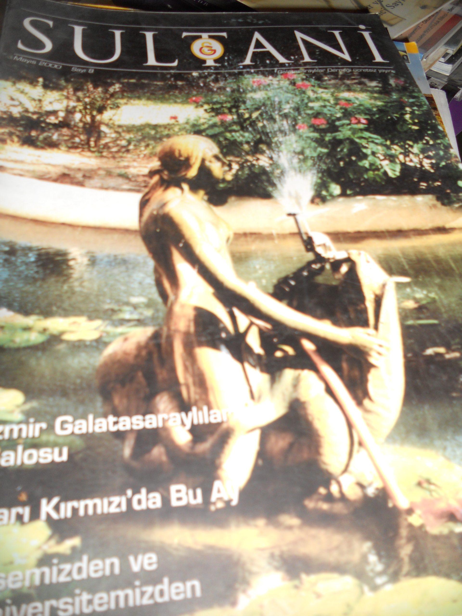 SULTANİ (Galatasaray lisesi dergisi 3 adet)+Galatasaray s.1 1995/4 dergi toplam:20 tl