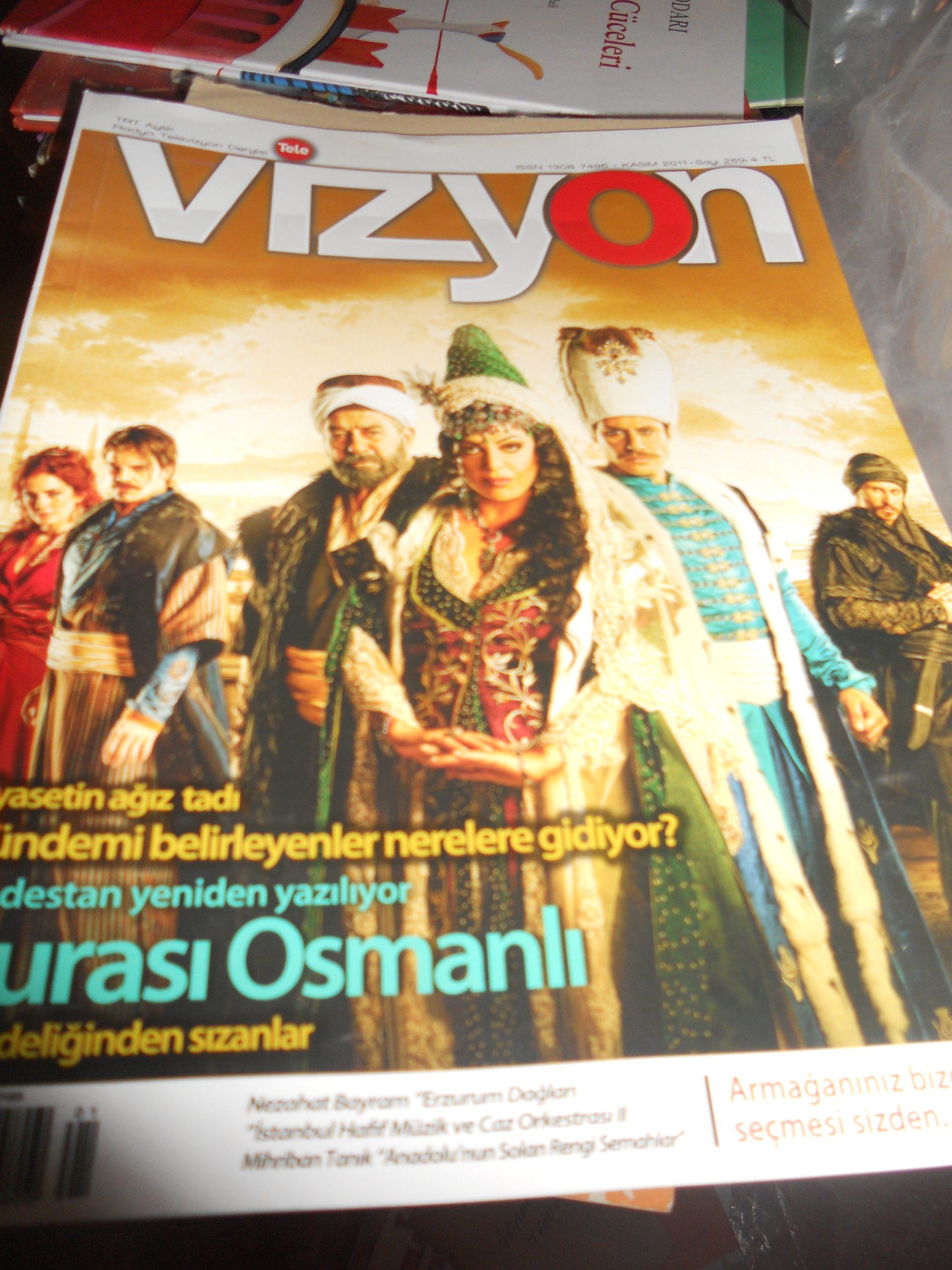VİZYON/Kasım 2011/ 5 tl