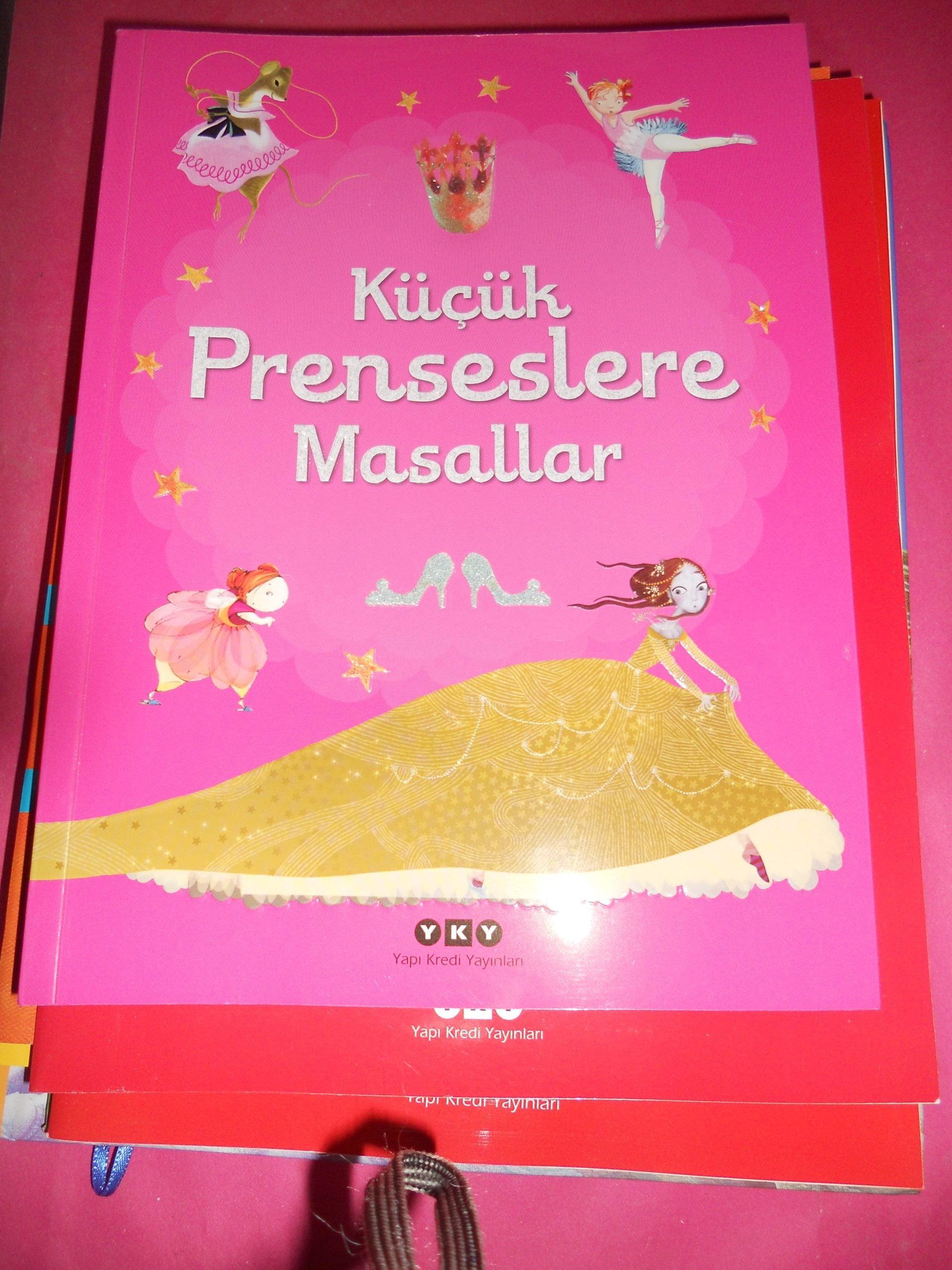 KÜÇÜK PRENSESLERE MASALLAR/YK YAYINLARI/15 TL