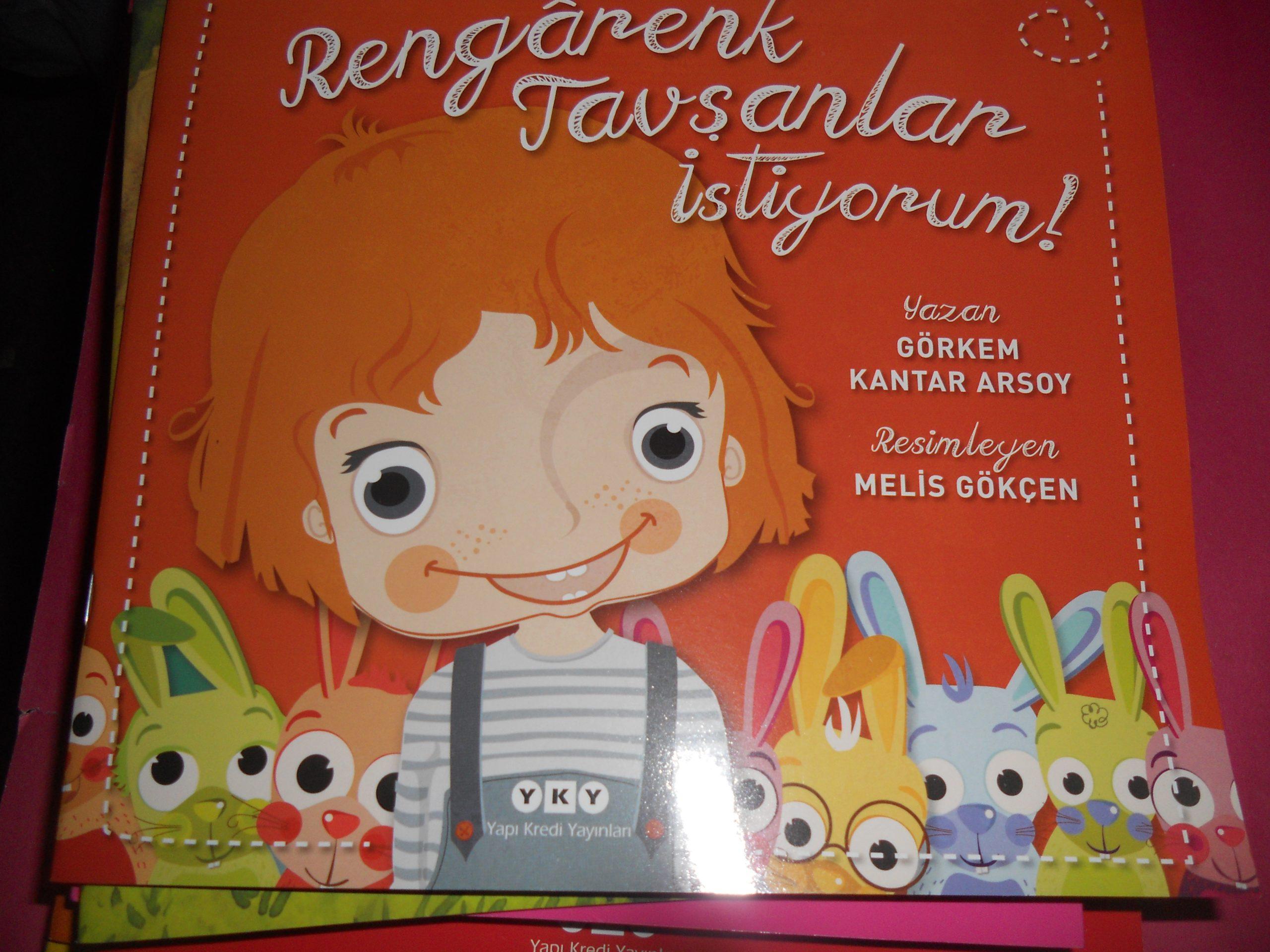RENGARENK TAVŞANLARI İSTİYORUM/Görkem KANTAR ARSOY /10 TL