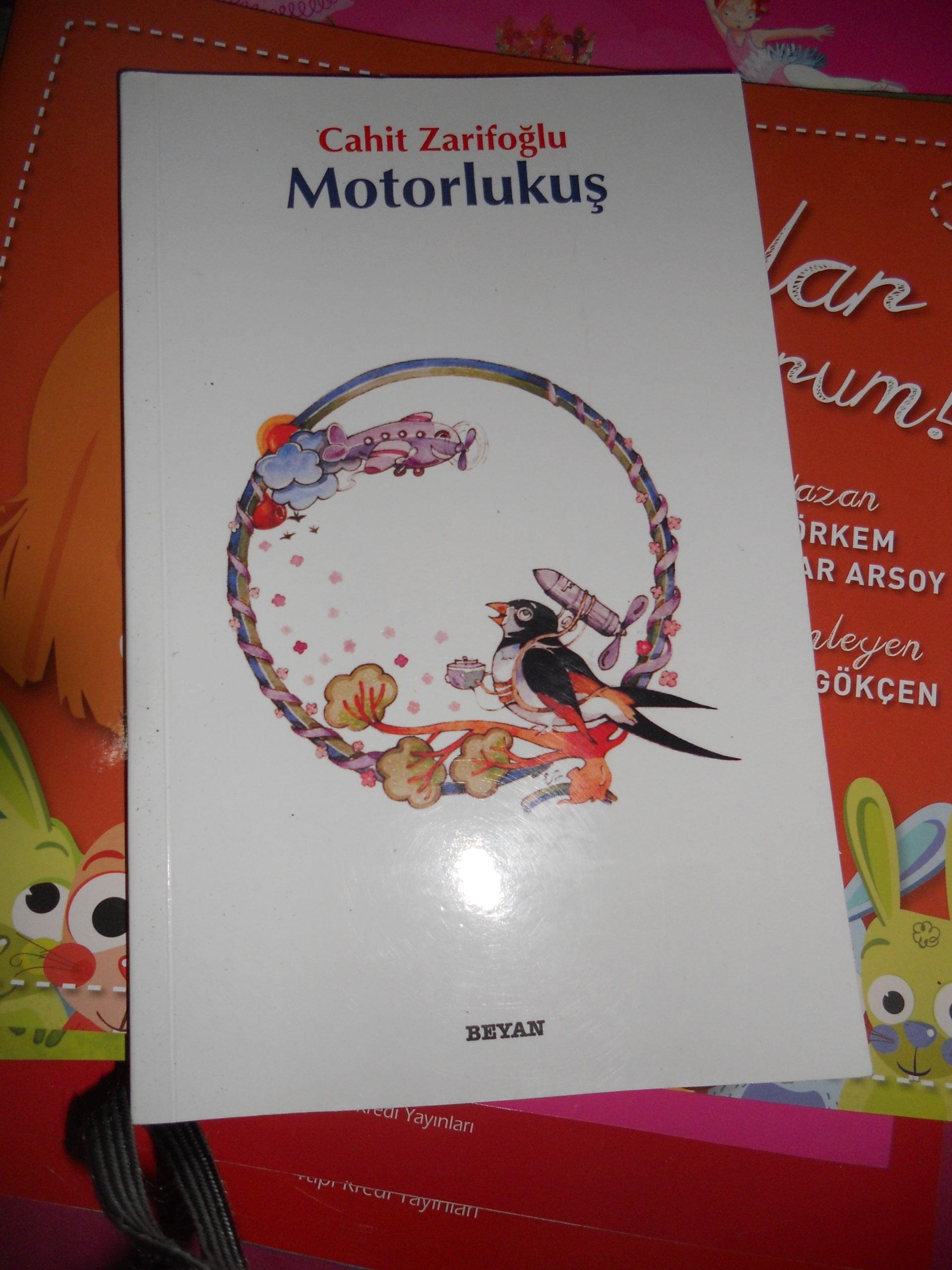 MOTORLU KUŞ/Cahit ZARİFOĞLU/7,5 TL(satıldı)