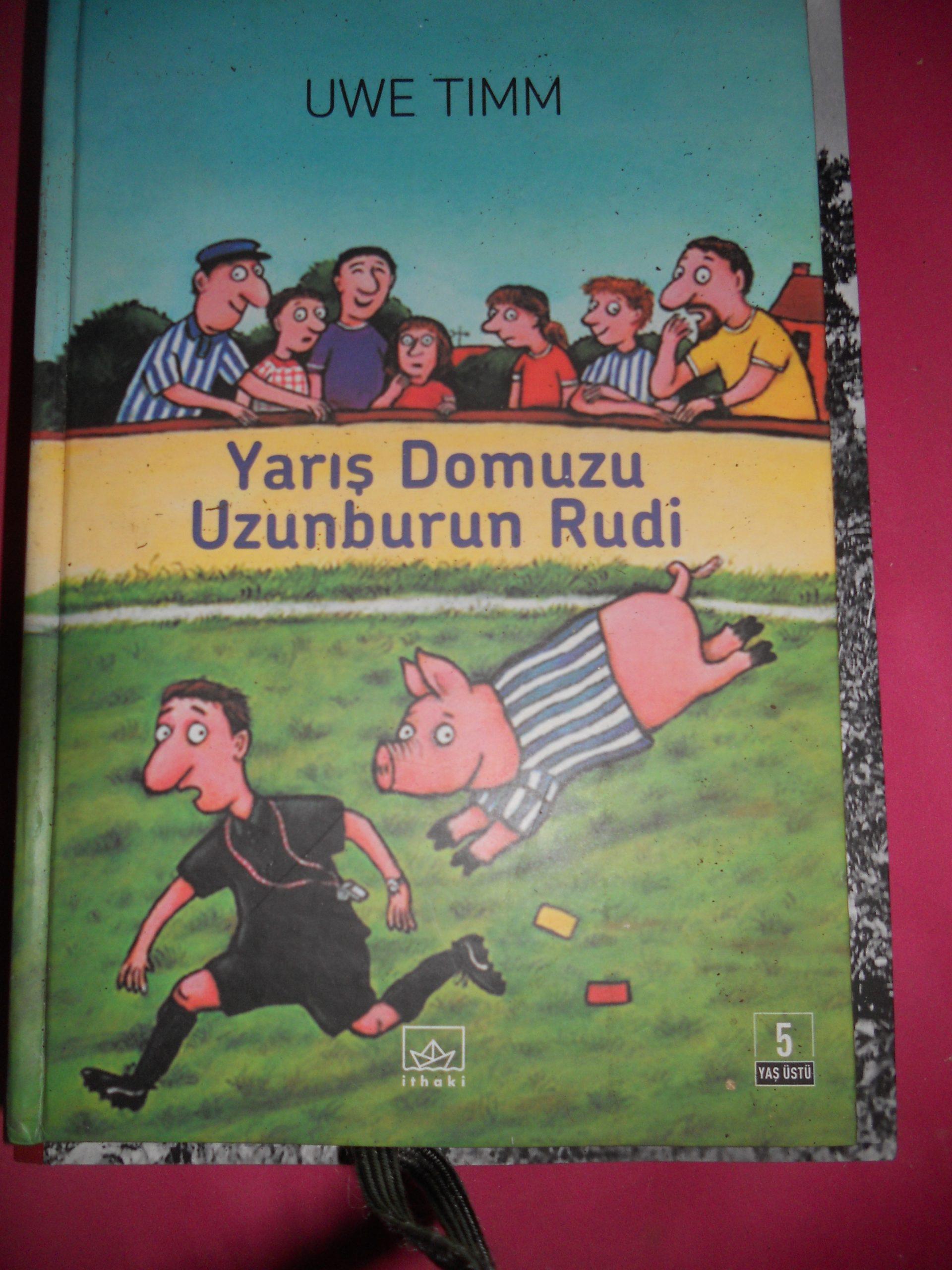YARIŞ DOMUZU UZUN BURUN RUDİ/Uwe TIMM/10 TL