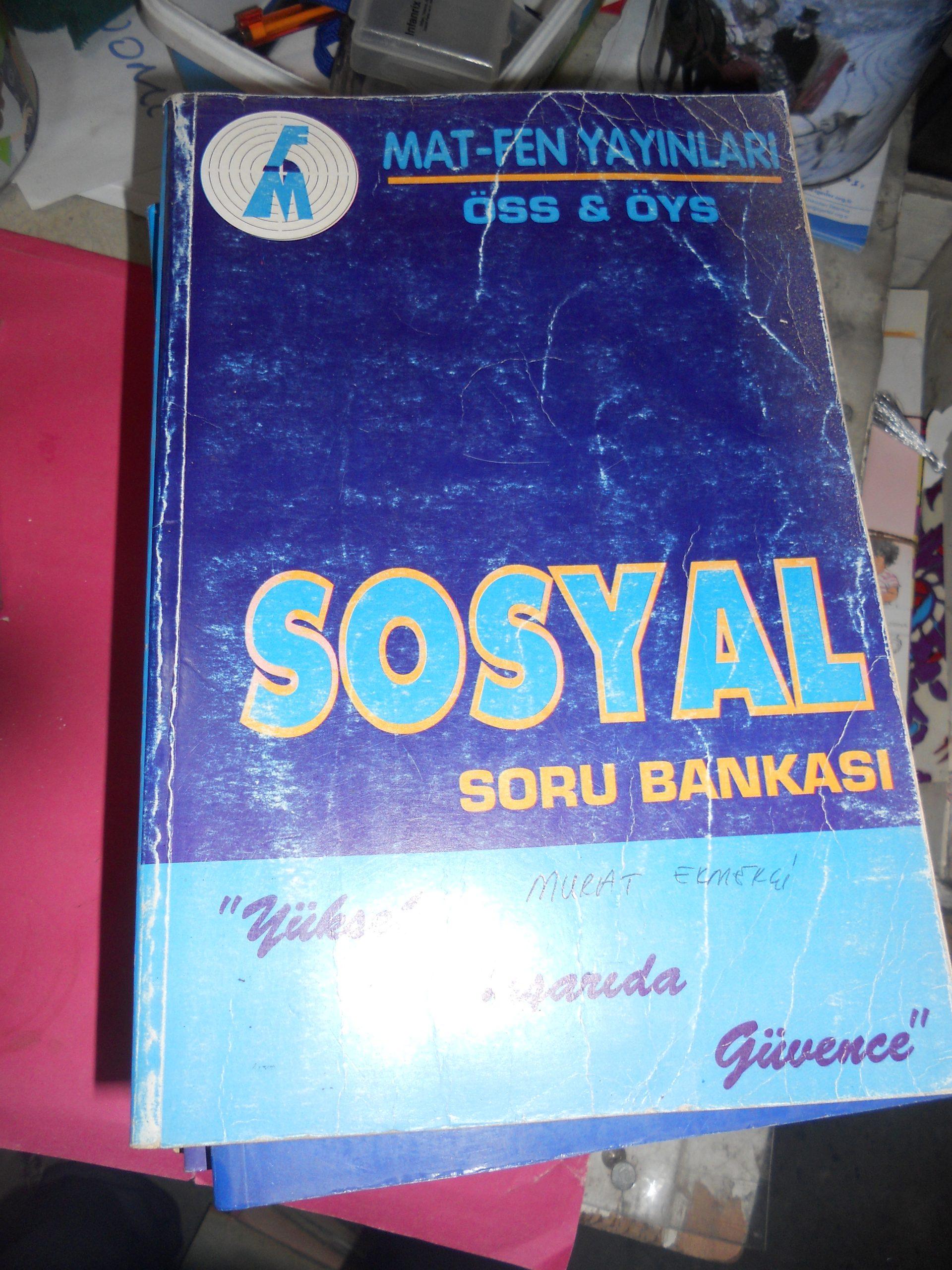SOSYAL Soru Bankası-Mat-Fen yay/10 tl