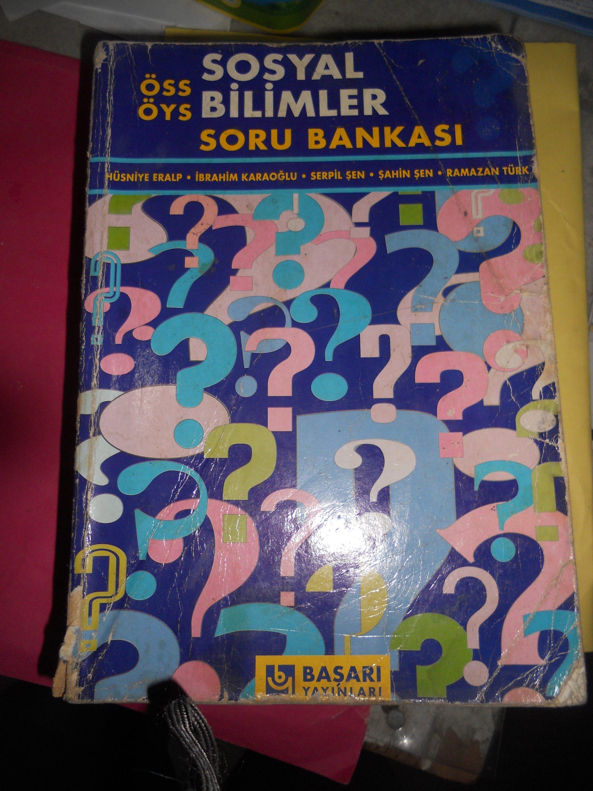 ÖSS -ÖYS SOSYAL BİLİMLER SORU BANKASI/BAŞARI YAY/ 15 TL