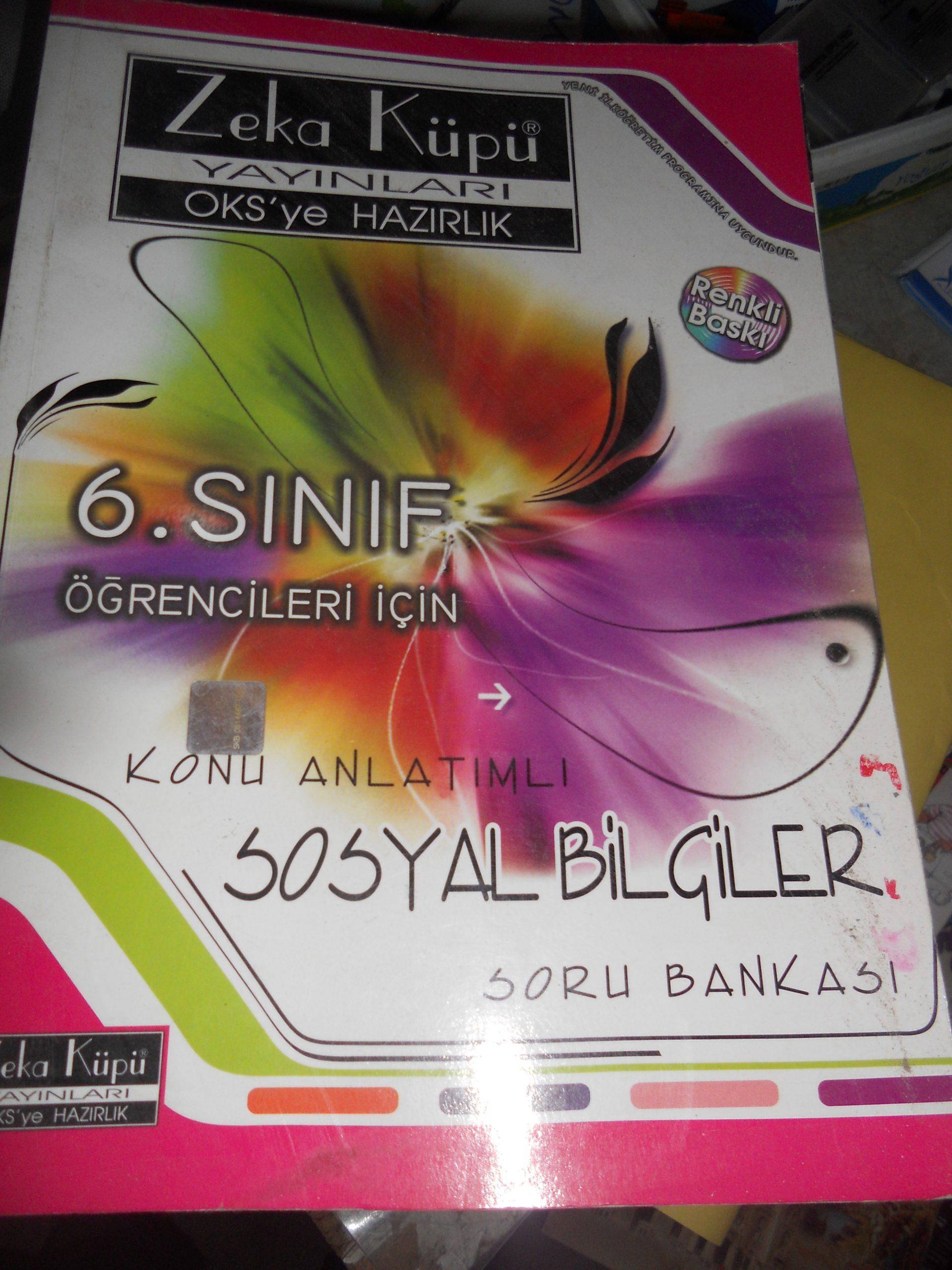 6.SINIF KONU ANLATIMLI SOSYAL BİLGİLER/ZEKA KÜPÜ YAY/15 TL