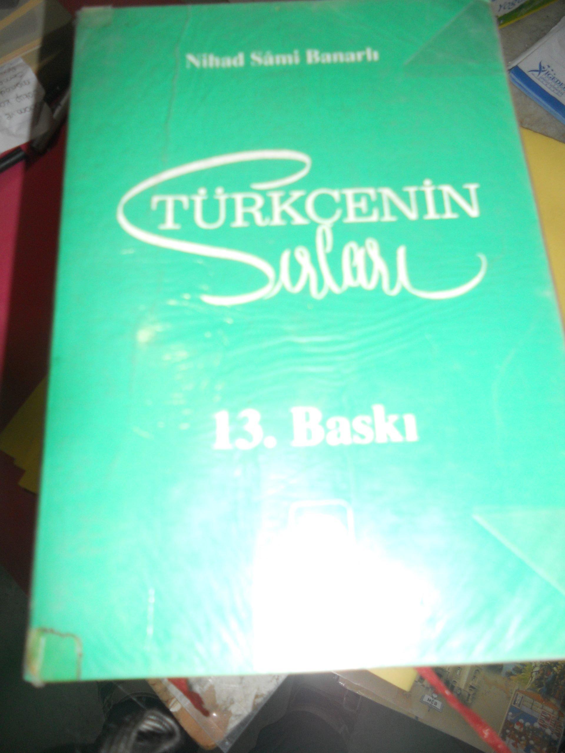 TÜRKÇENİN SIRLARI/Nihat Sami BANARLI/20 TL