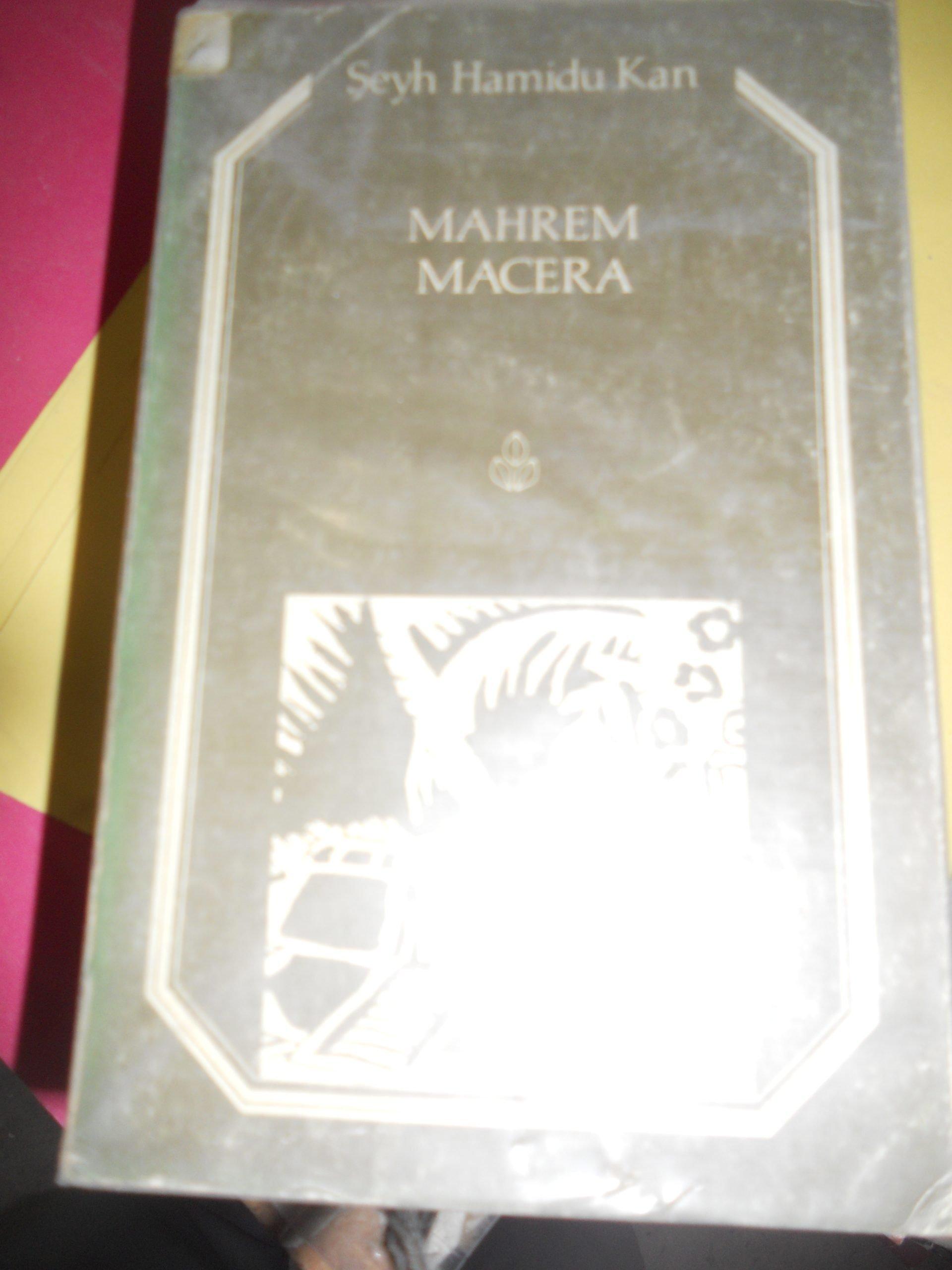 MAHREM MACERA /Şeyh Hamidu Kan/10 TL(SATILDI)
