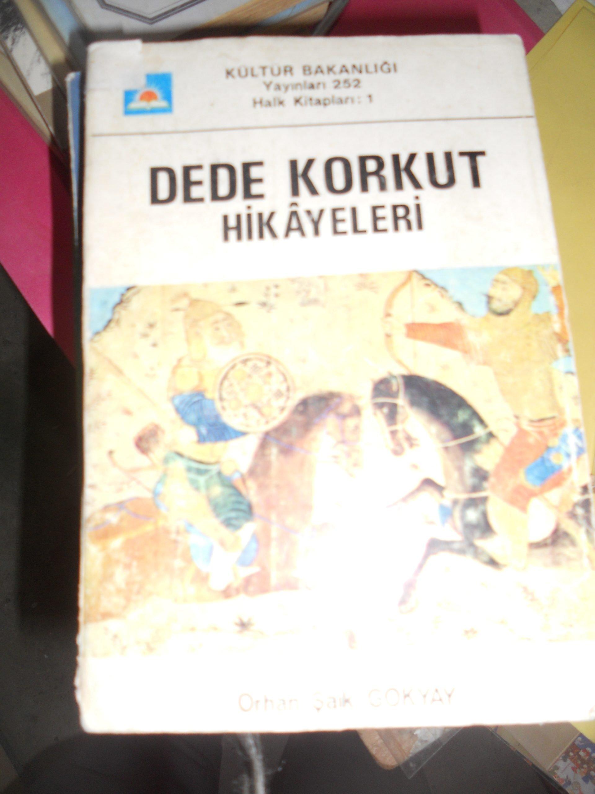 DEDE KORKUT HİKAYELERİ/ORHAN ŞAİK GÖKYAY/ 15 TL
