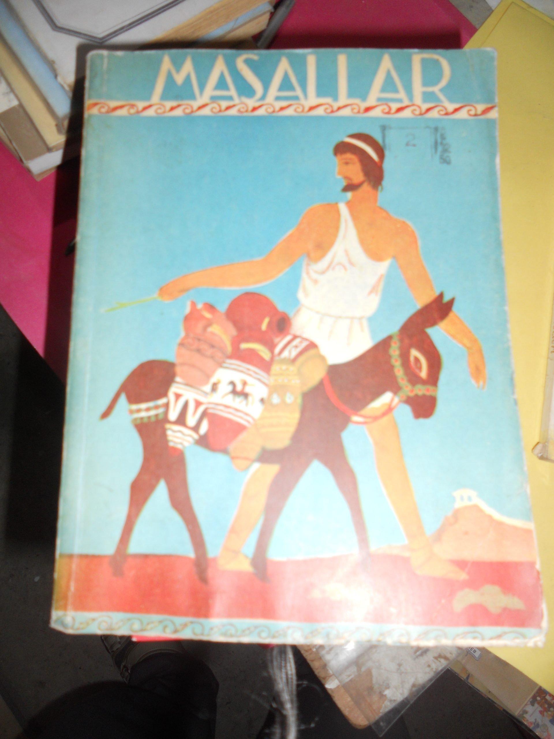 MASALLAR/AİSOPOS/ÇEV:N.ATAÇ-1949-ÇİZİM KAPAK