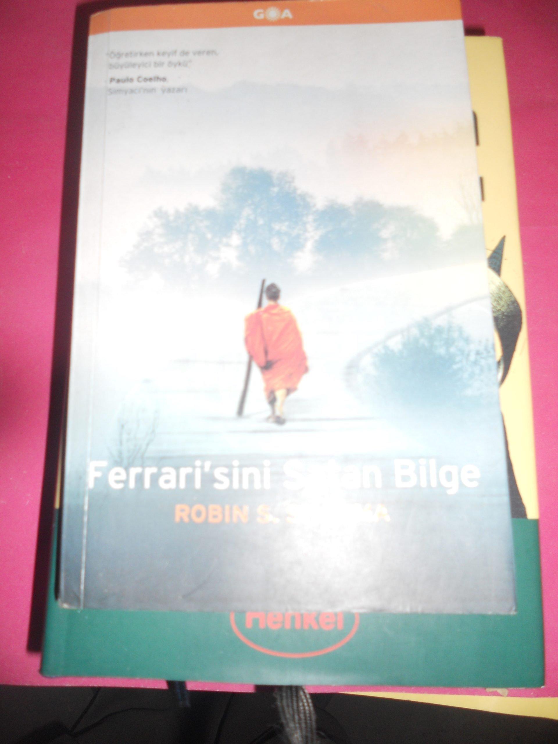 FERRARİ'SİNİ SATAN BİLGE/ROBIN SHARMA/10 TL