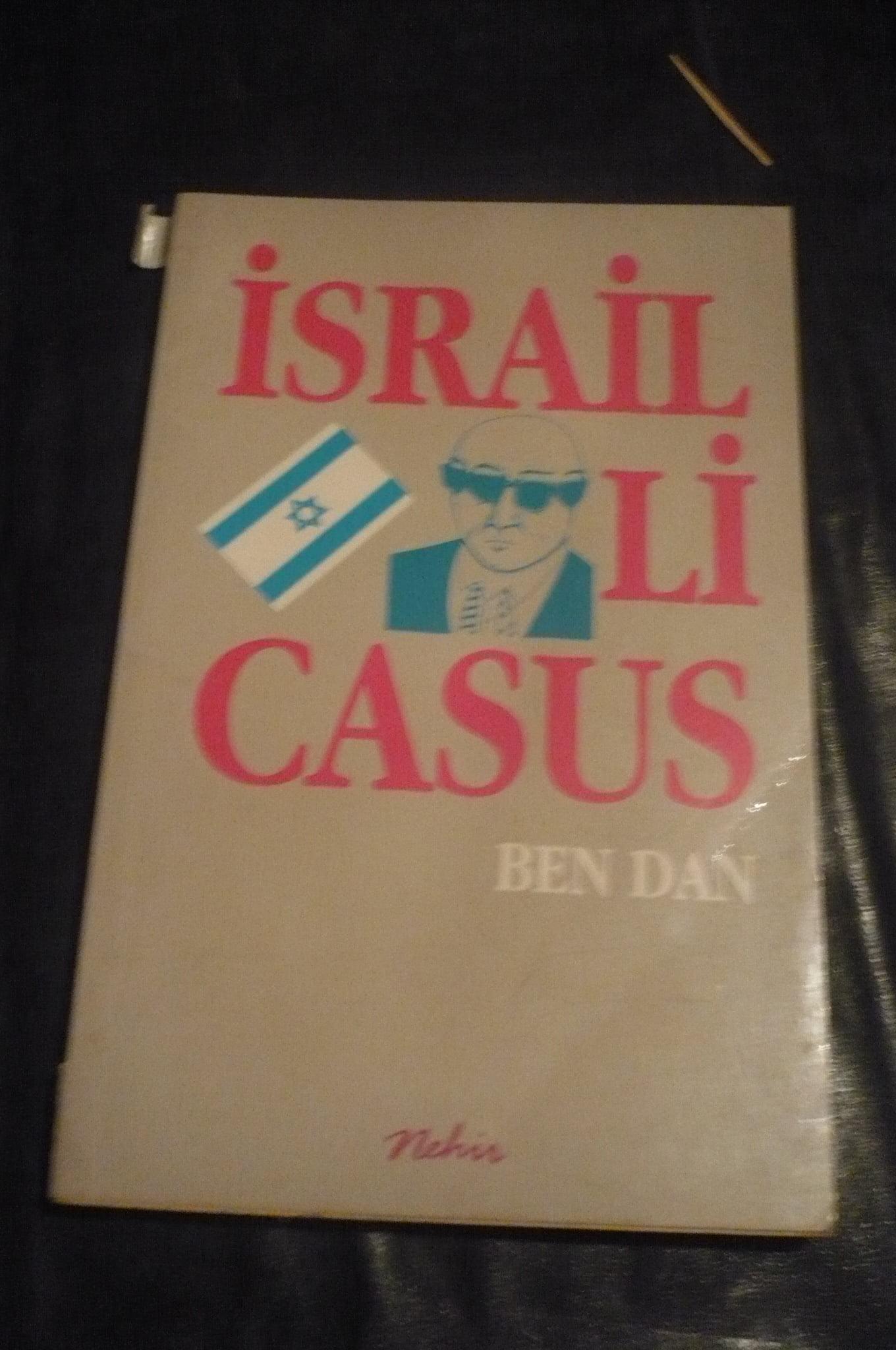 İSRAİLLİ CASUS/BEN DAN/ 15 tl