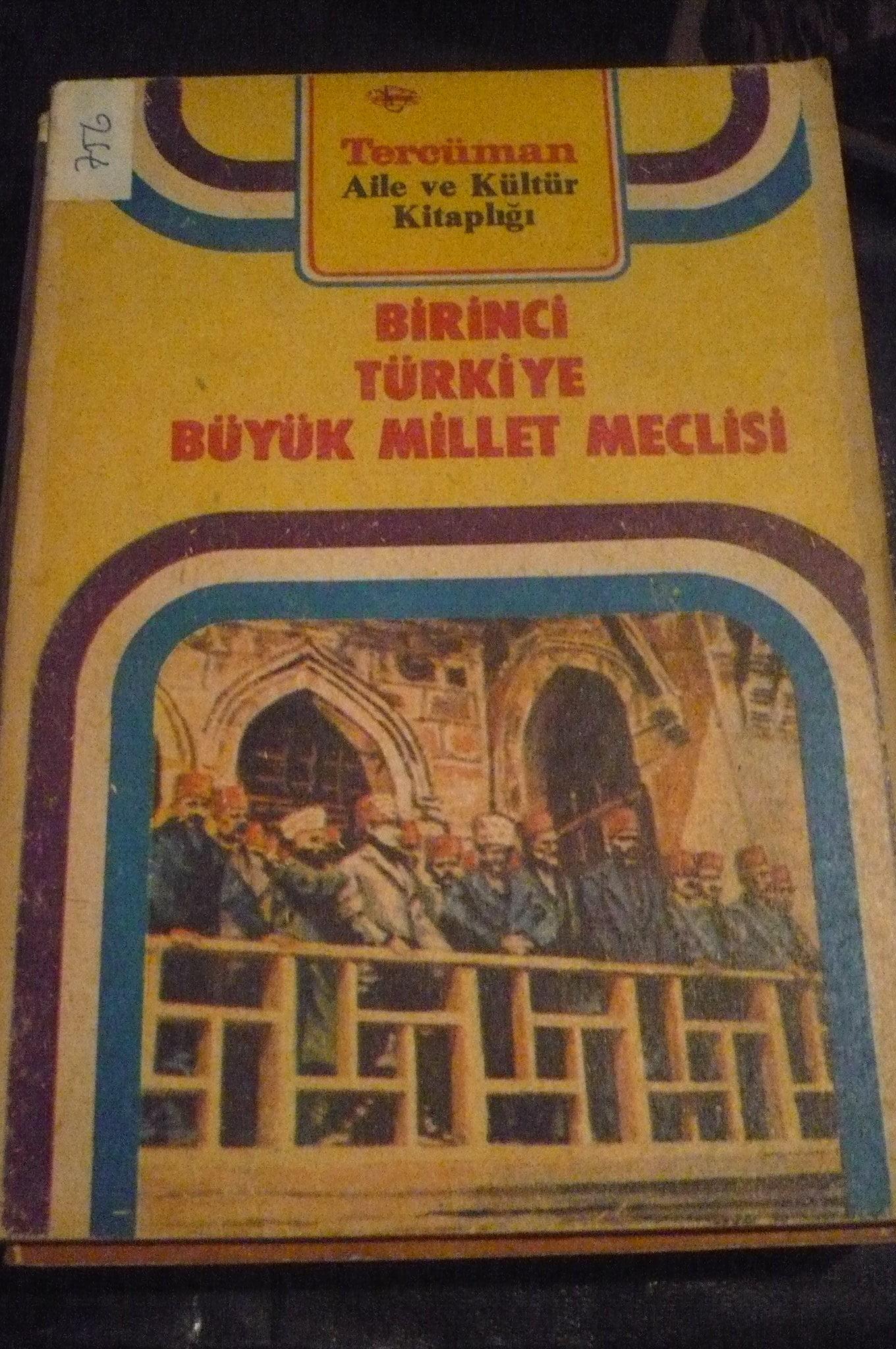 BİRİNCİ TÜRKİYE BÜYÜK MİLLET MECLİSİ(Tercüman gazt)/5 tl