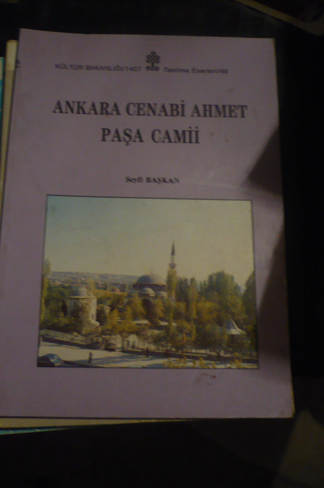 ANKARA CENABİ AHMET PAŞA CAMİİ/ Seyfi BAŞKAN/ 15 tl