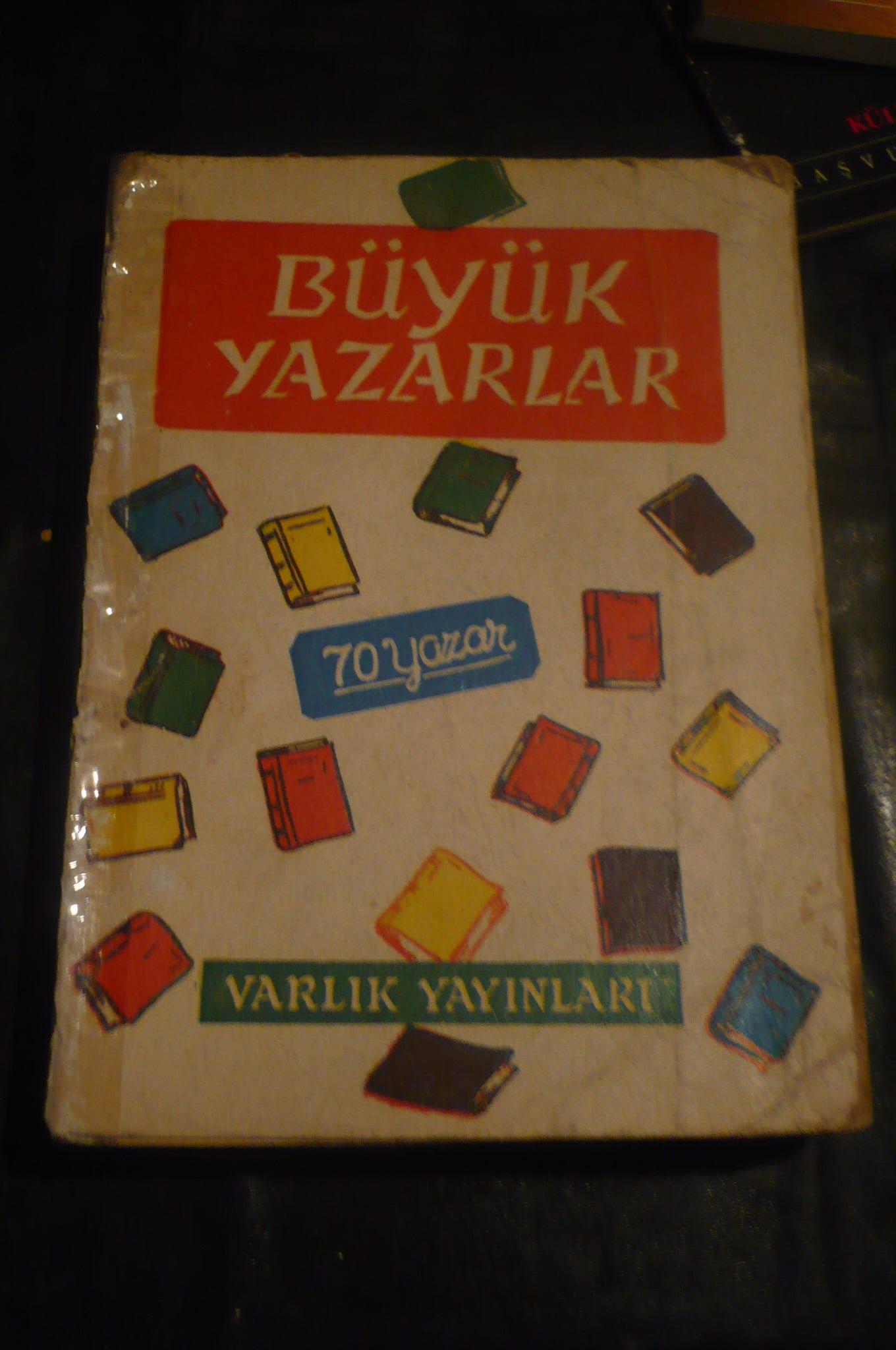 BÜYÜK YAZARLAR-70 YAZAR/ VARLIK YAY/ 15 TL