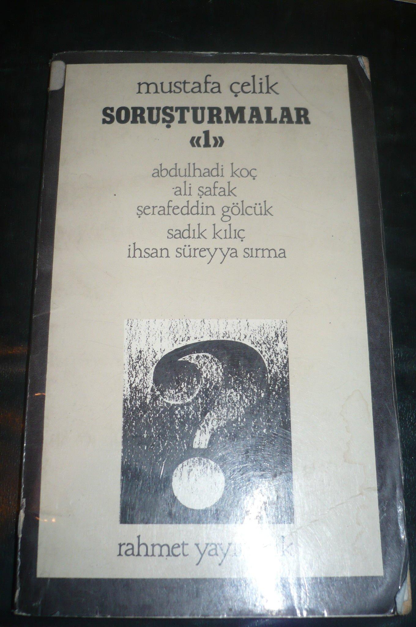 SORUŞTURMALAR 1/Mustafa Çelik/ 10 tl