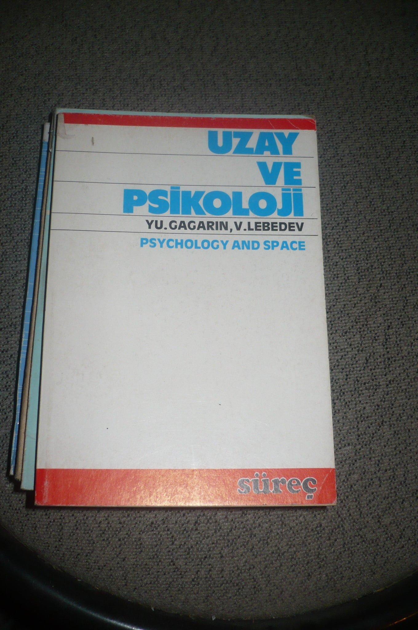 UZAY VE PSİKOLOJİ/Y.Gagarin,V.Lebedev /15 TL