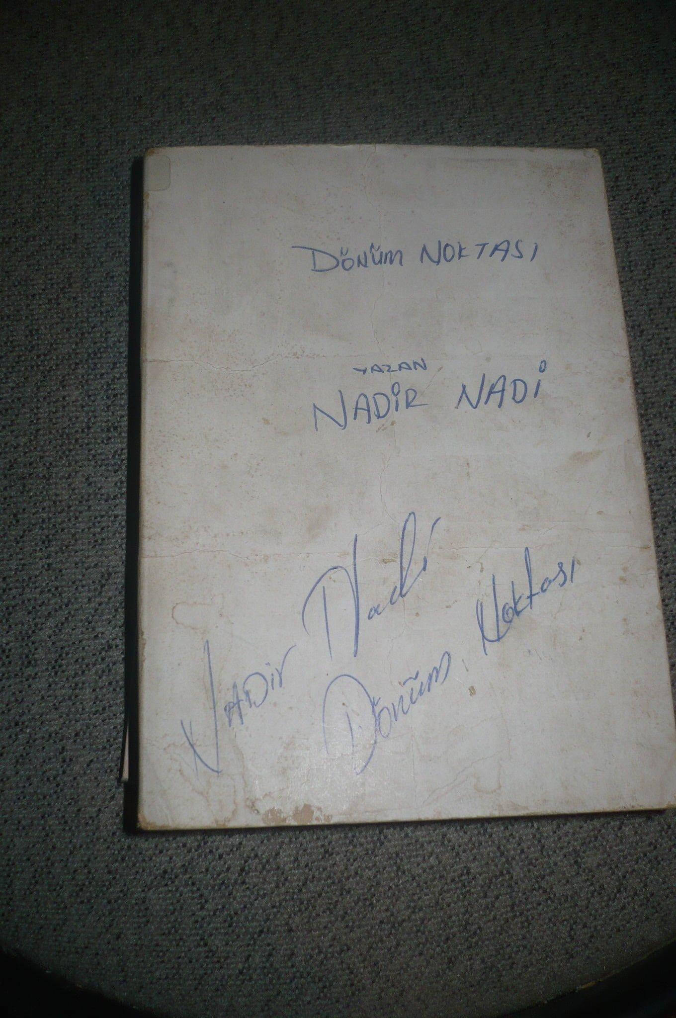 DÖNÜM NOKTASI/Nadir Nadi/ 20tl