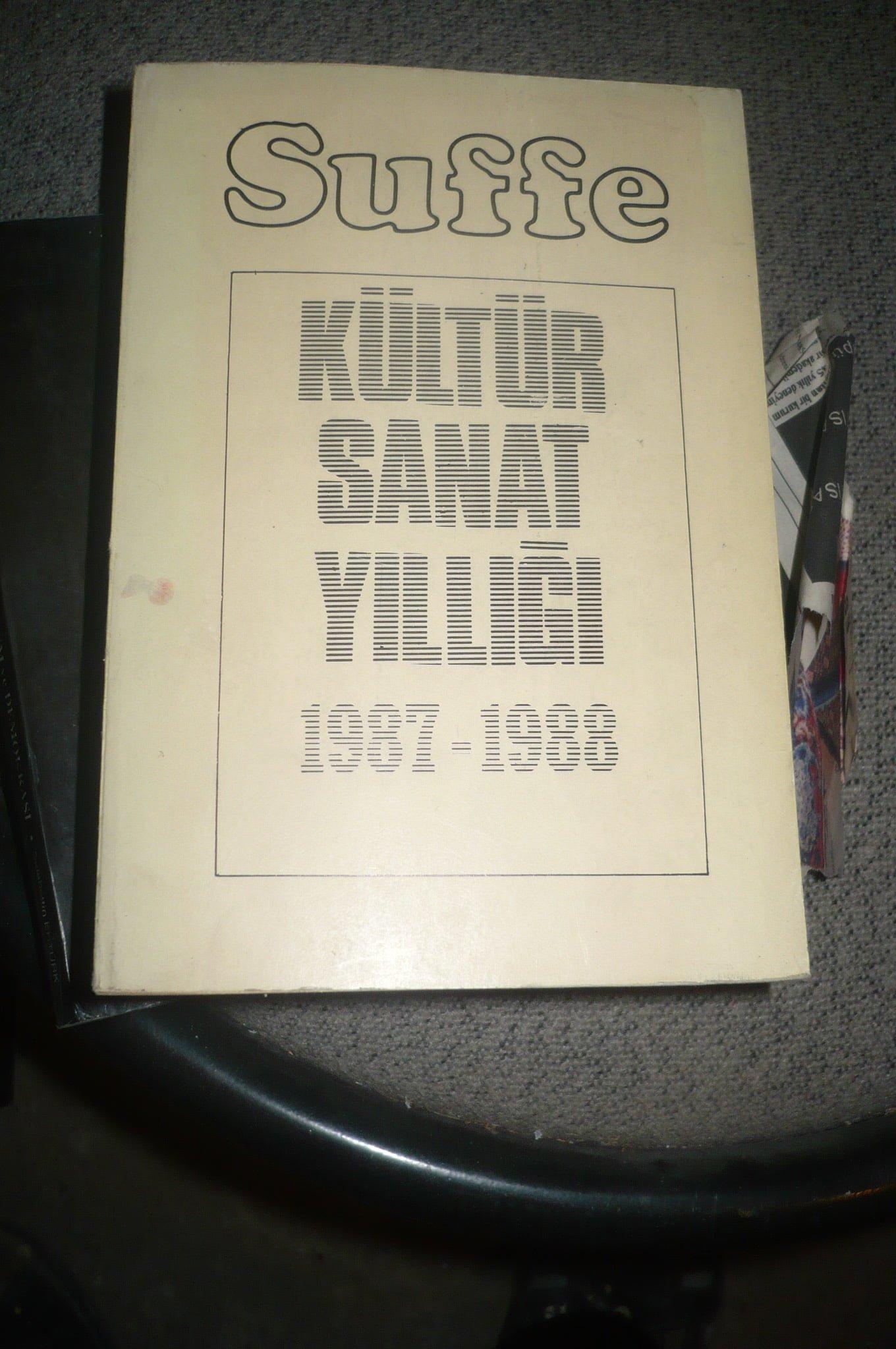 SUFFE-KÜLTÜR SANAT YILLIĞI/1987-1988/25 TL
