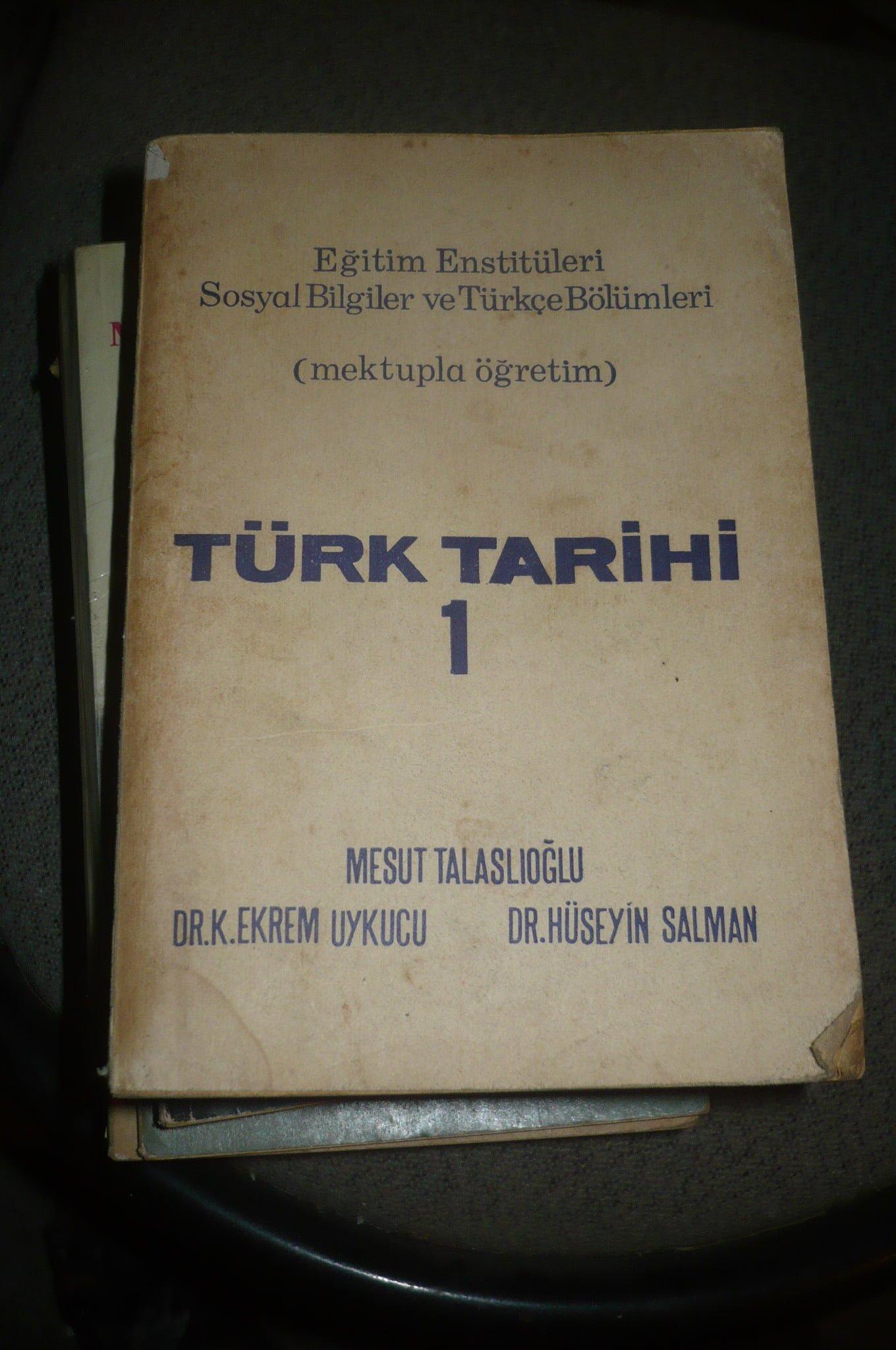 TÜRK TARİHİ 1/M.Talaslıoğlu-E. Uykucu-H.Salman/25TL