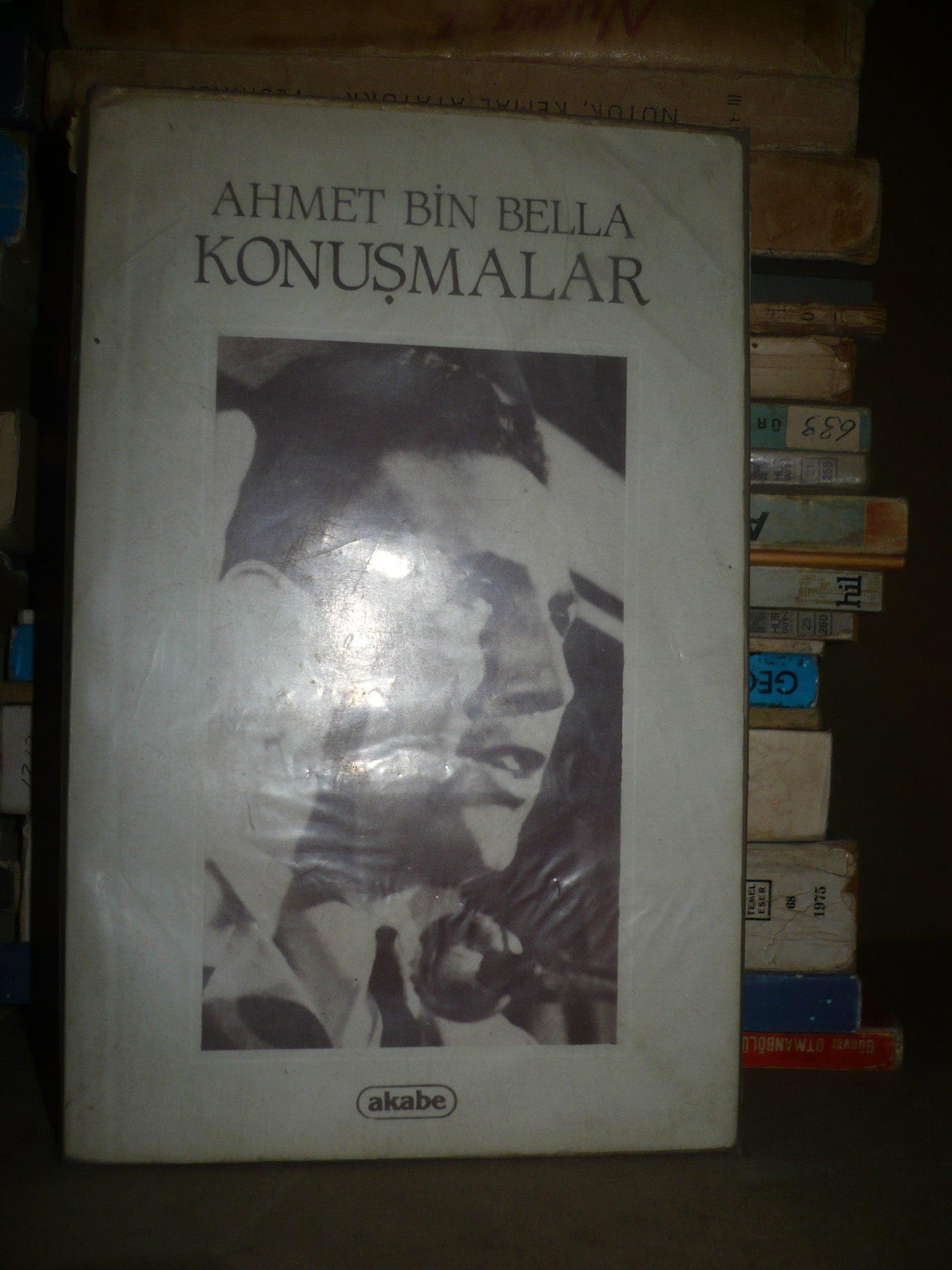 KONUŞMALAR/Ahmet Bin BELLA/20 tl