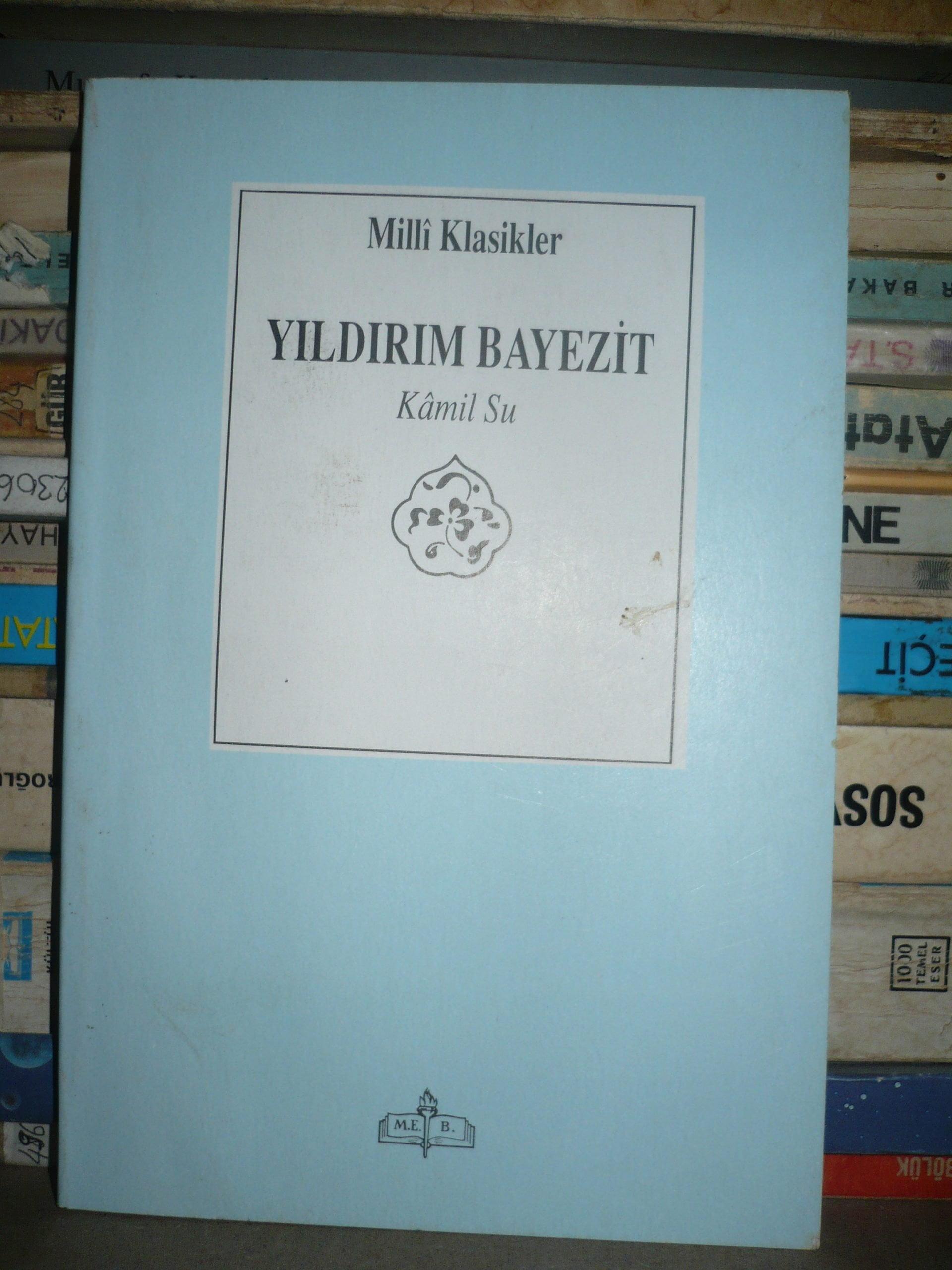 YILDIRIM BAYEZIT/Kamil SU/10 TL