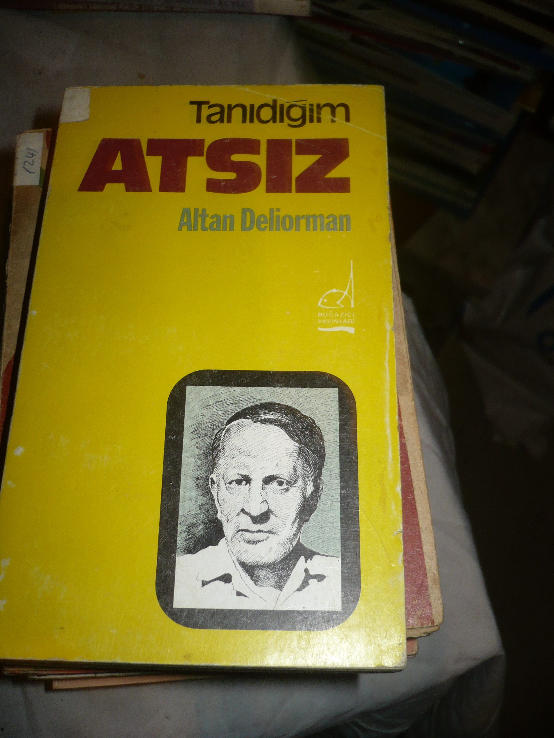 Tanıdığım ATSIZ/Altan DELİORMAN/10 TL(satıldı)