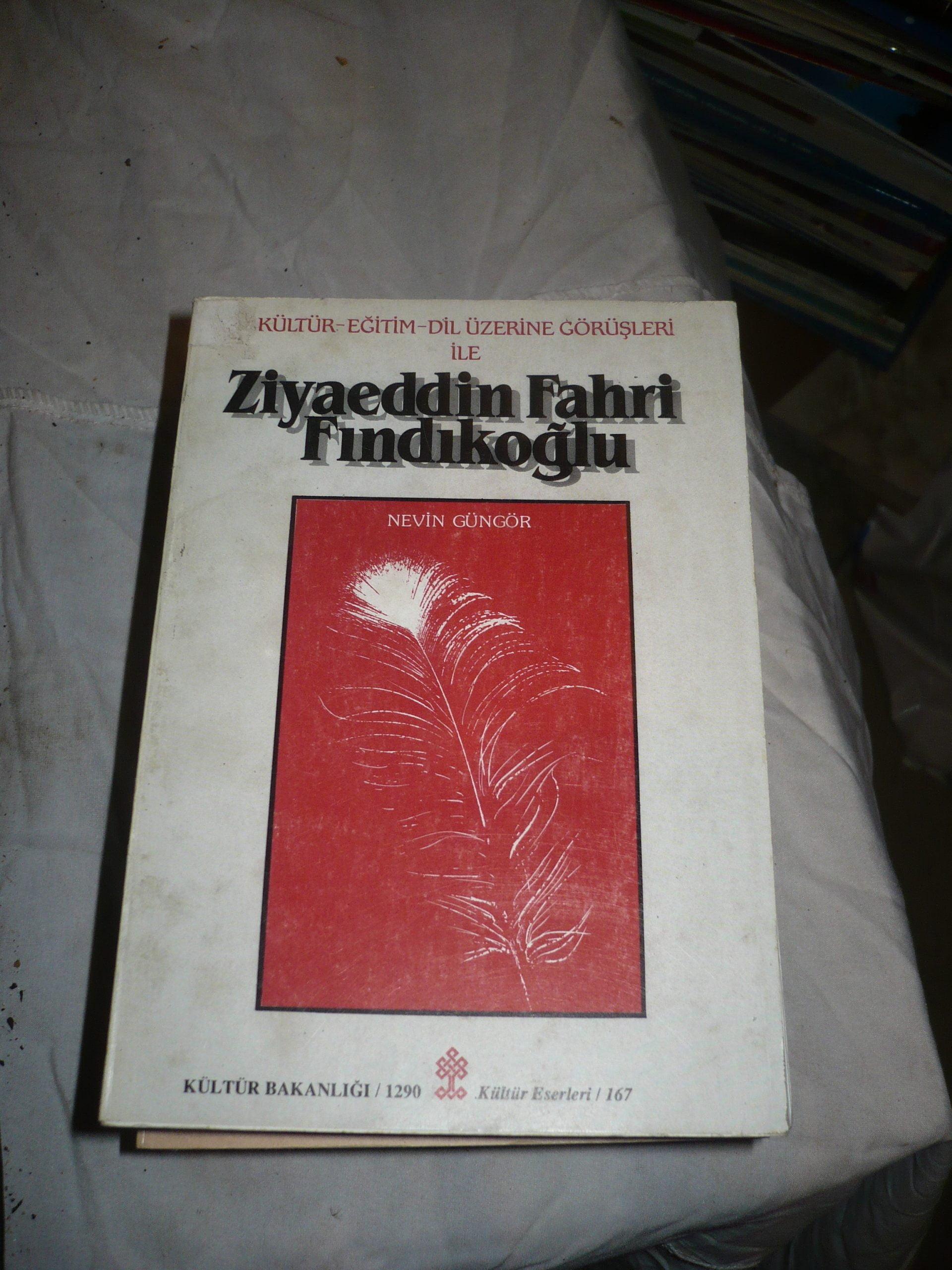 ZİYAEDDİN FAHRİ FINDIKOĞLU/Nevin GÜNGÖR/15 TL