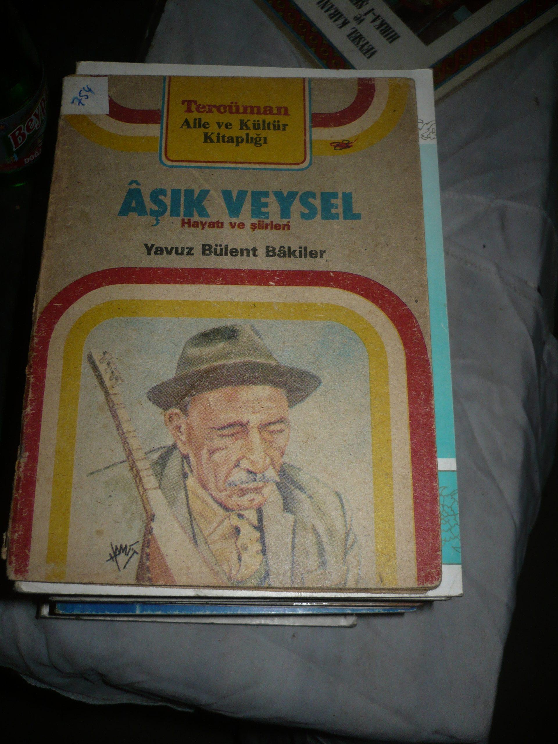 AŞIK VEYSEL-Hayatı ve Eserleri(Tercüman gazetesi)/Yavuz Bülent BAKİLER/1 TL(SATILDI)