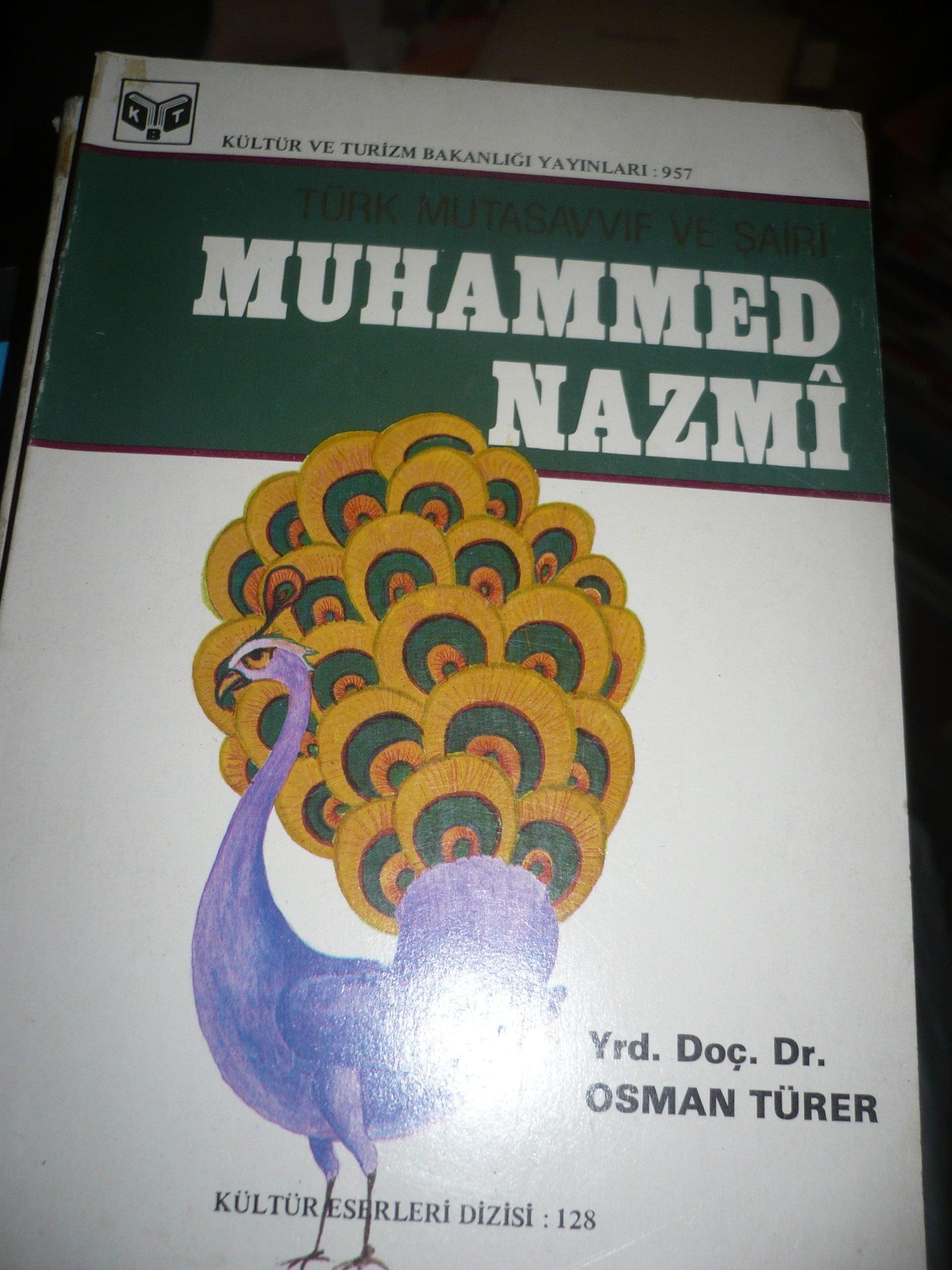 Türk Mutasavvıfı ve Şairi MUHAMMED NAZMİ/Osman TÜRER/10 TL