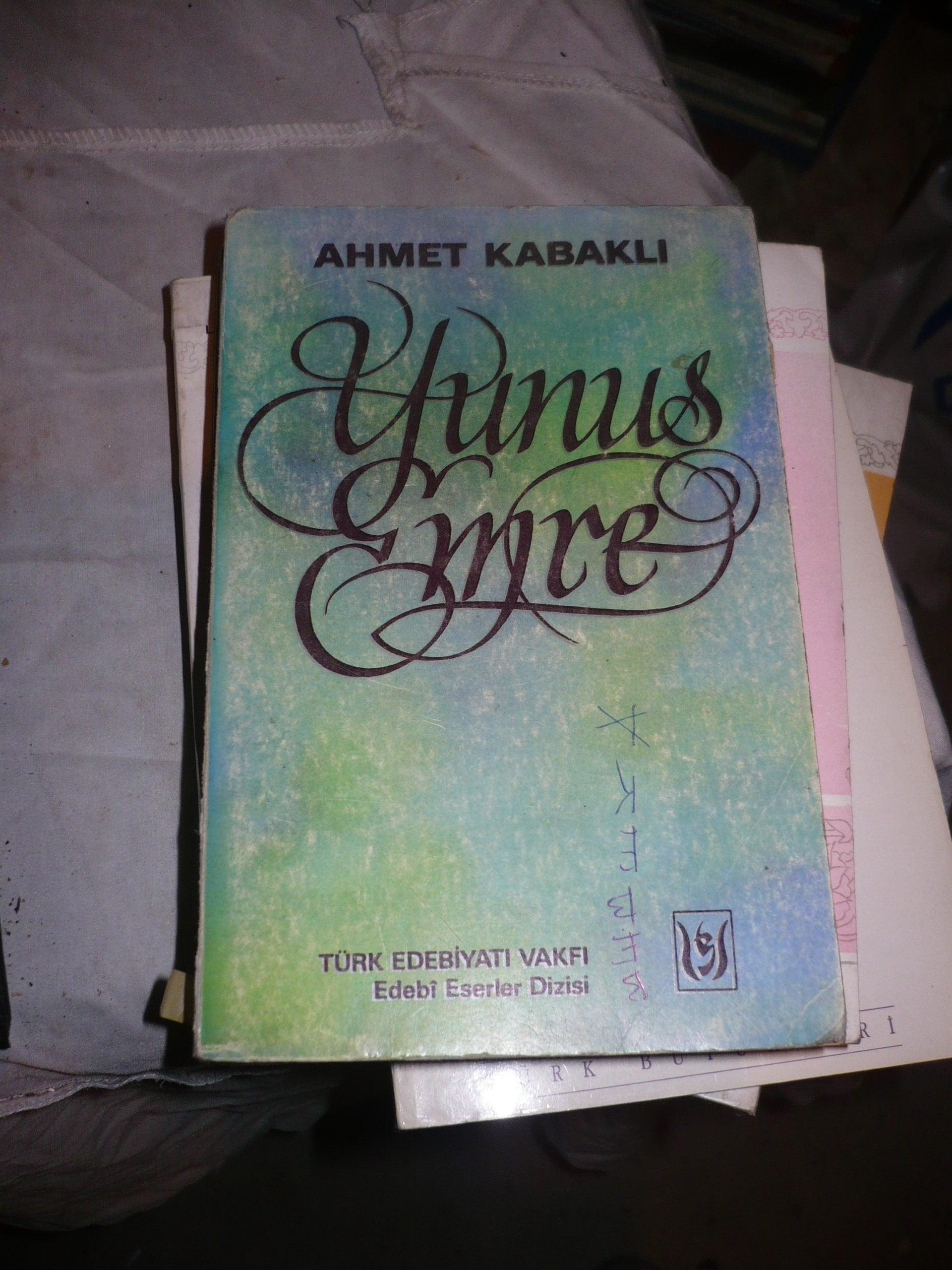 YUNUS EMRE/Ahmet KABAKLI/15 TL