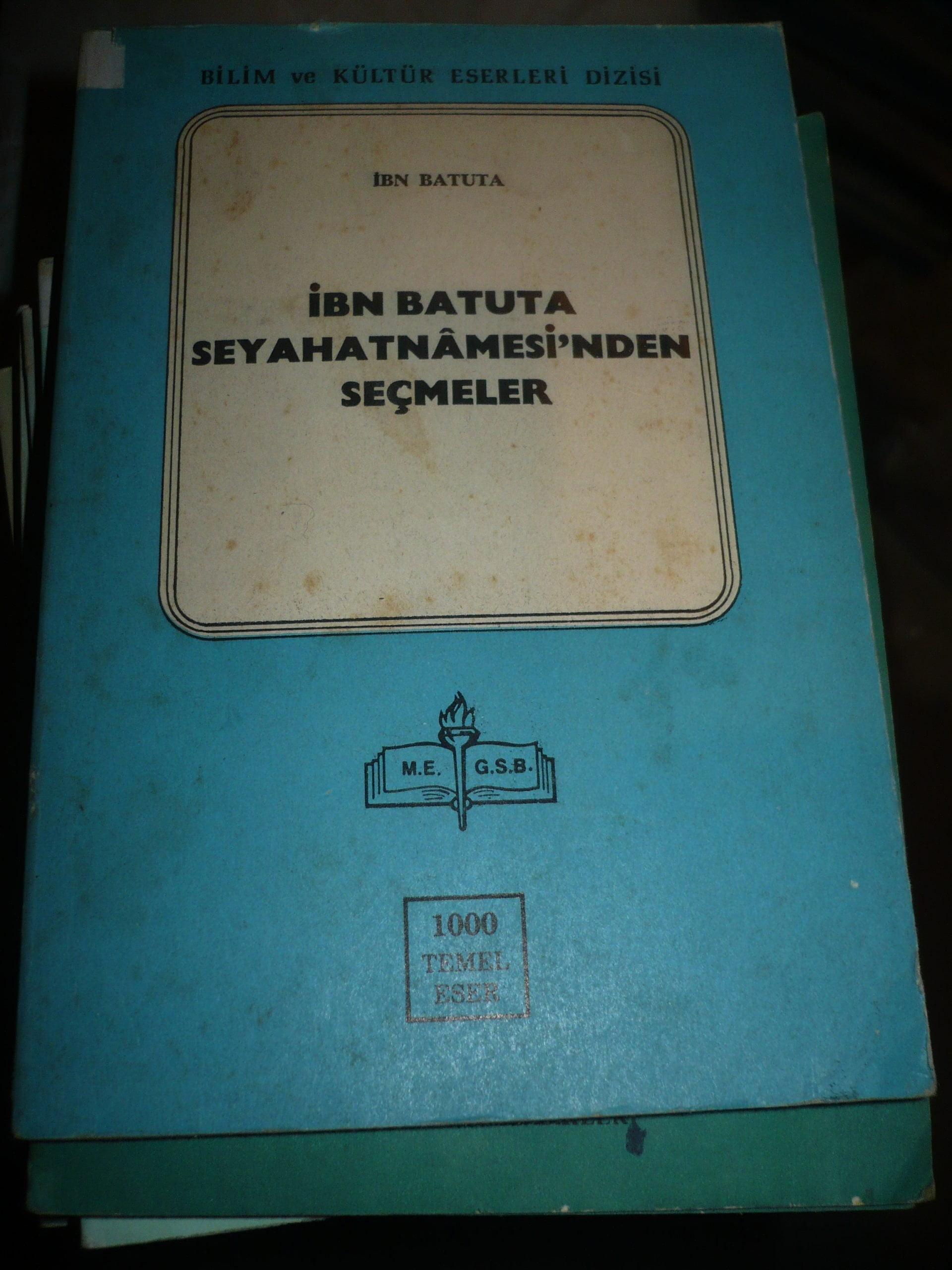 İBN BATUTA SEYAHATNAMESİ'NDEN SEÇMELER/İbn BATUTA/10 TL