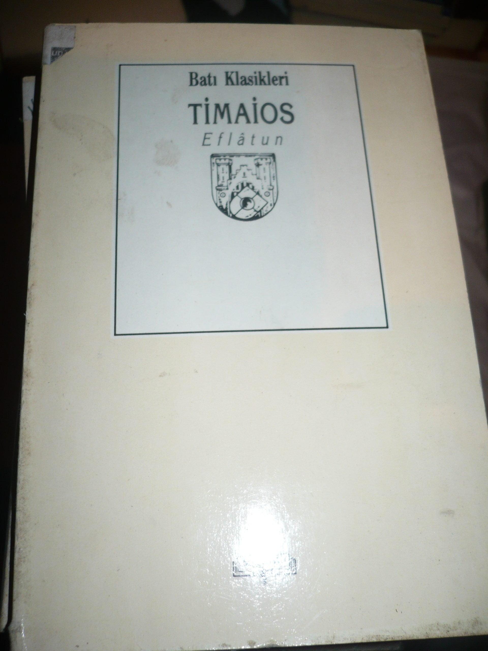 TİMAİOS/EFLATUN/10 TL