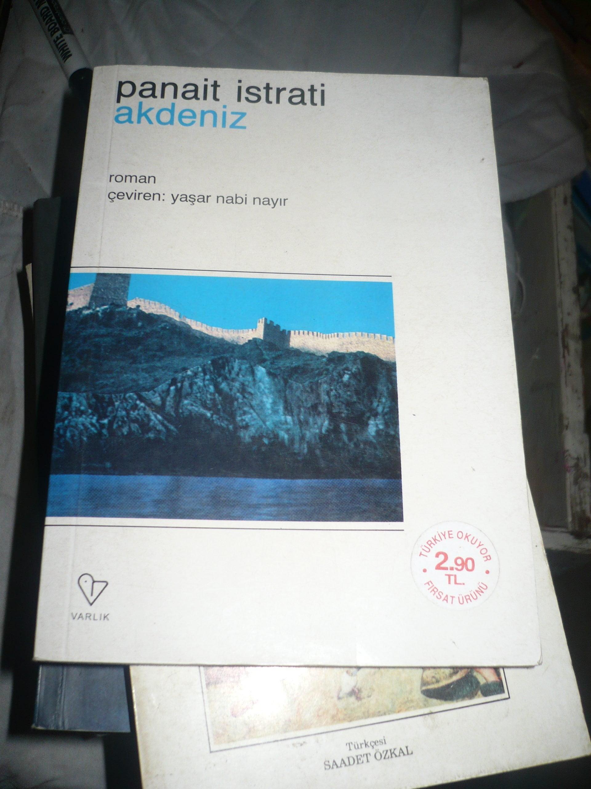 AKDENİZ/Panait İstrati/Varlık yay/ 10 tl