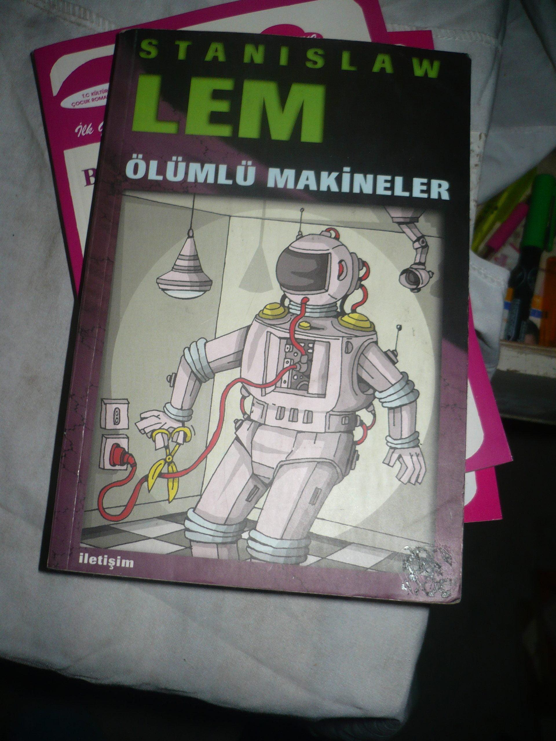 Ölümlü makineler/Stanislaw LEM/ 5 tl(SATILDI)