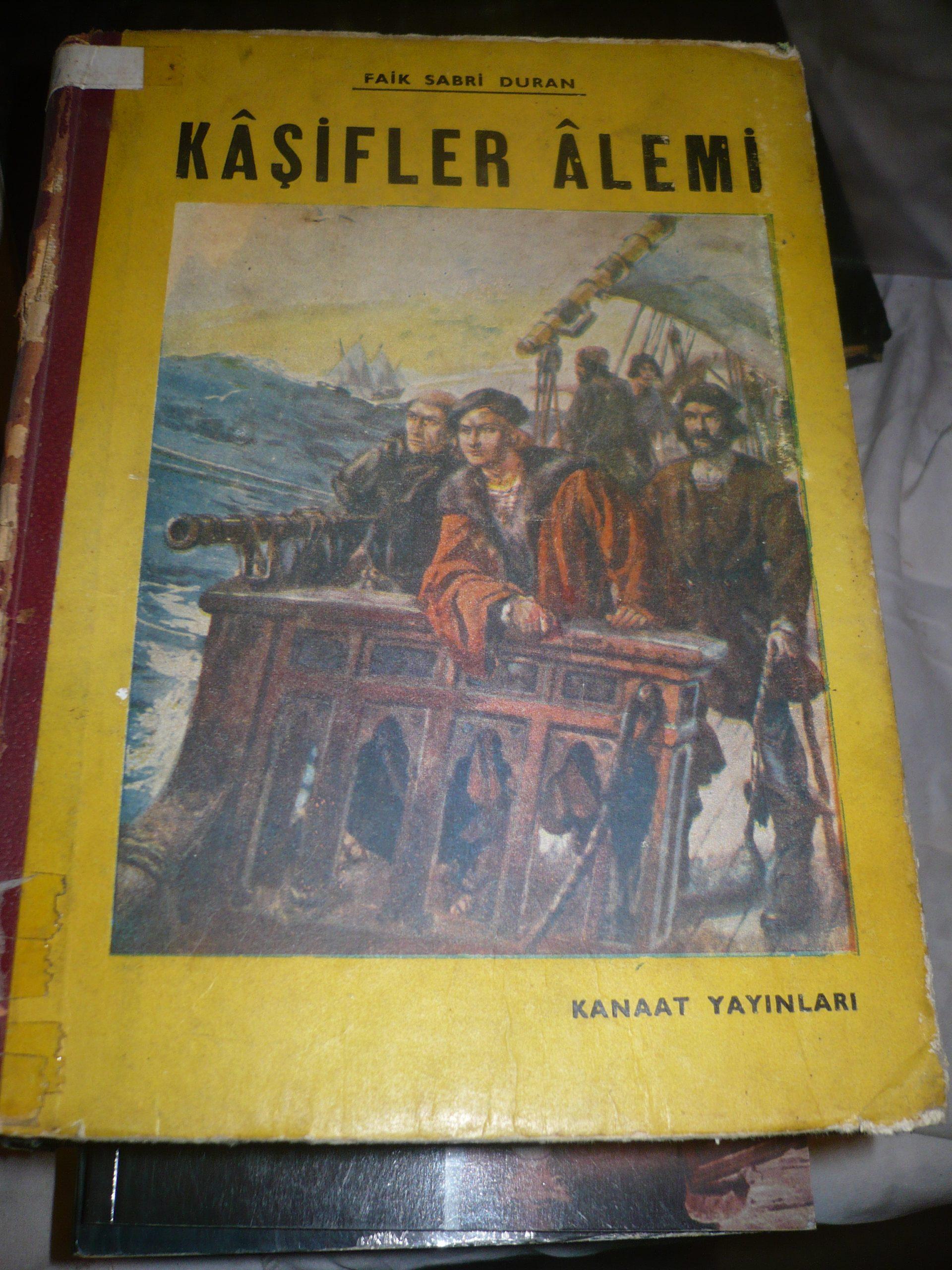 KAŞİFLER ALEMİ/Faik Sabri DURAN/Kanaat yay/30 tl(Tükendi)