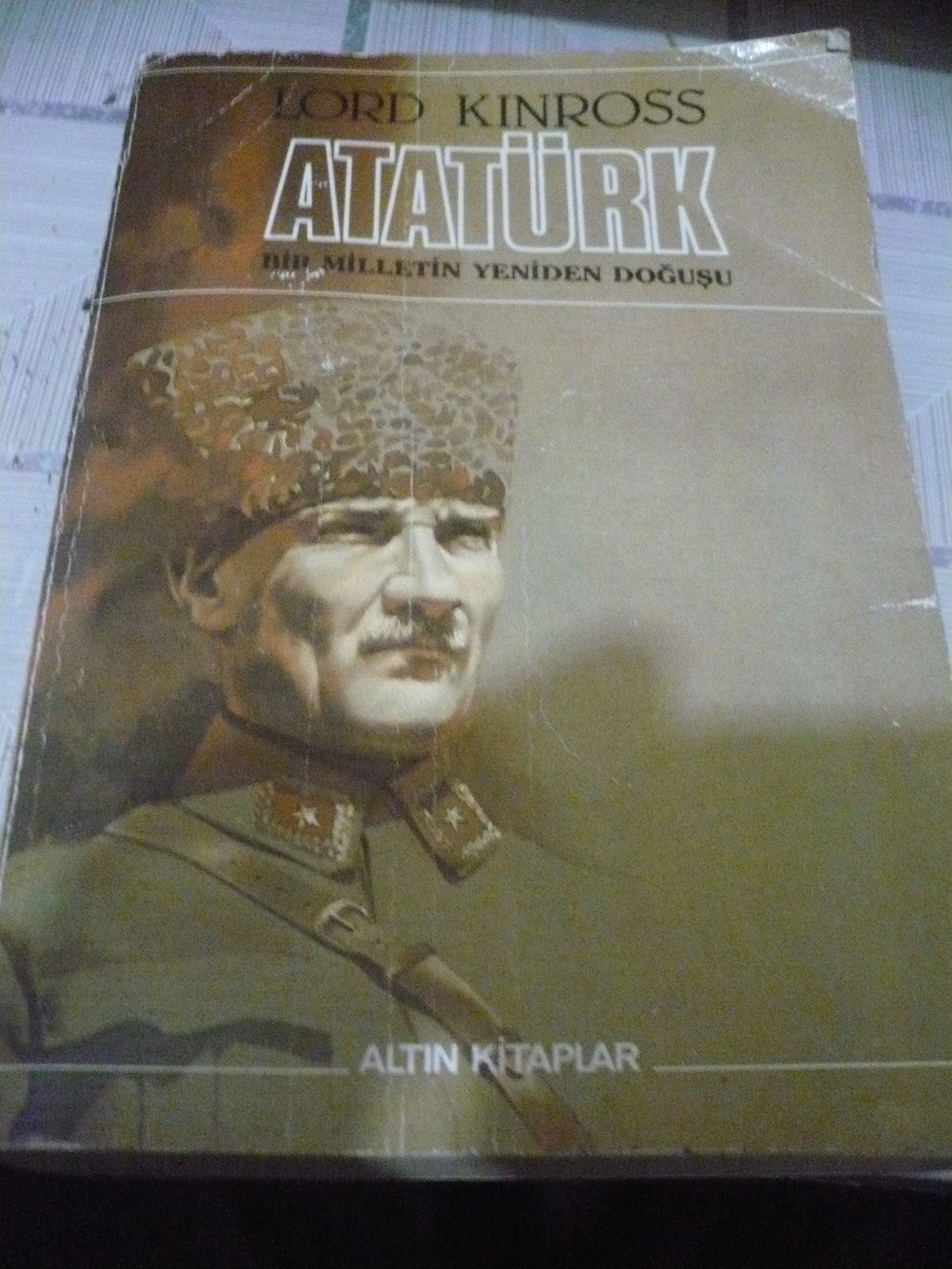 ATATÜRK/Lord KINROSS/15 TL