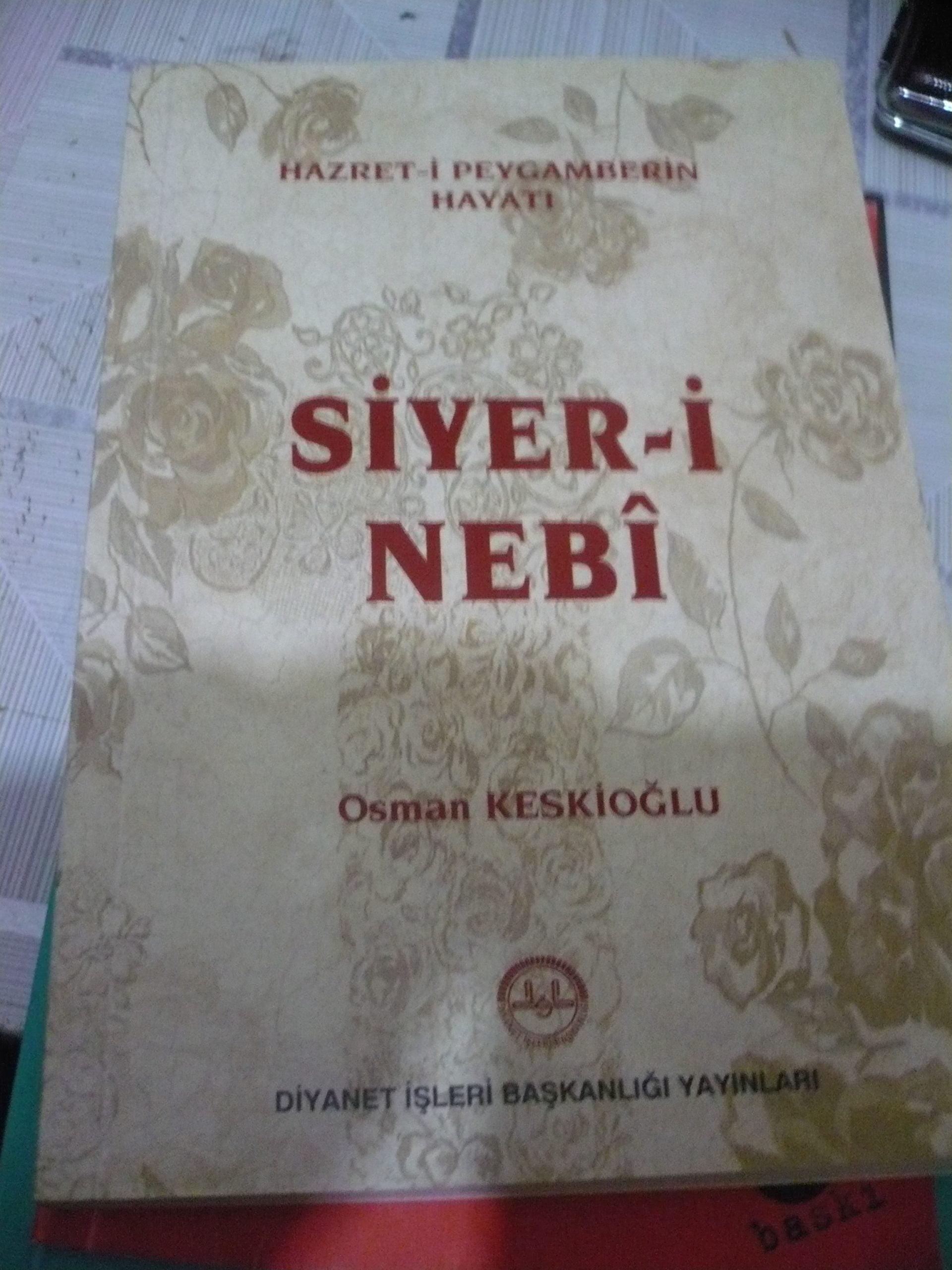 SİYERİ NEBİ /OSMAN KESKİOĞLU/5TL