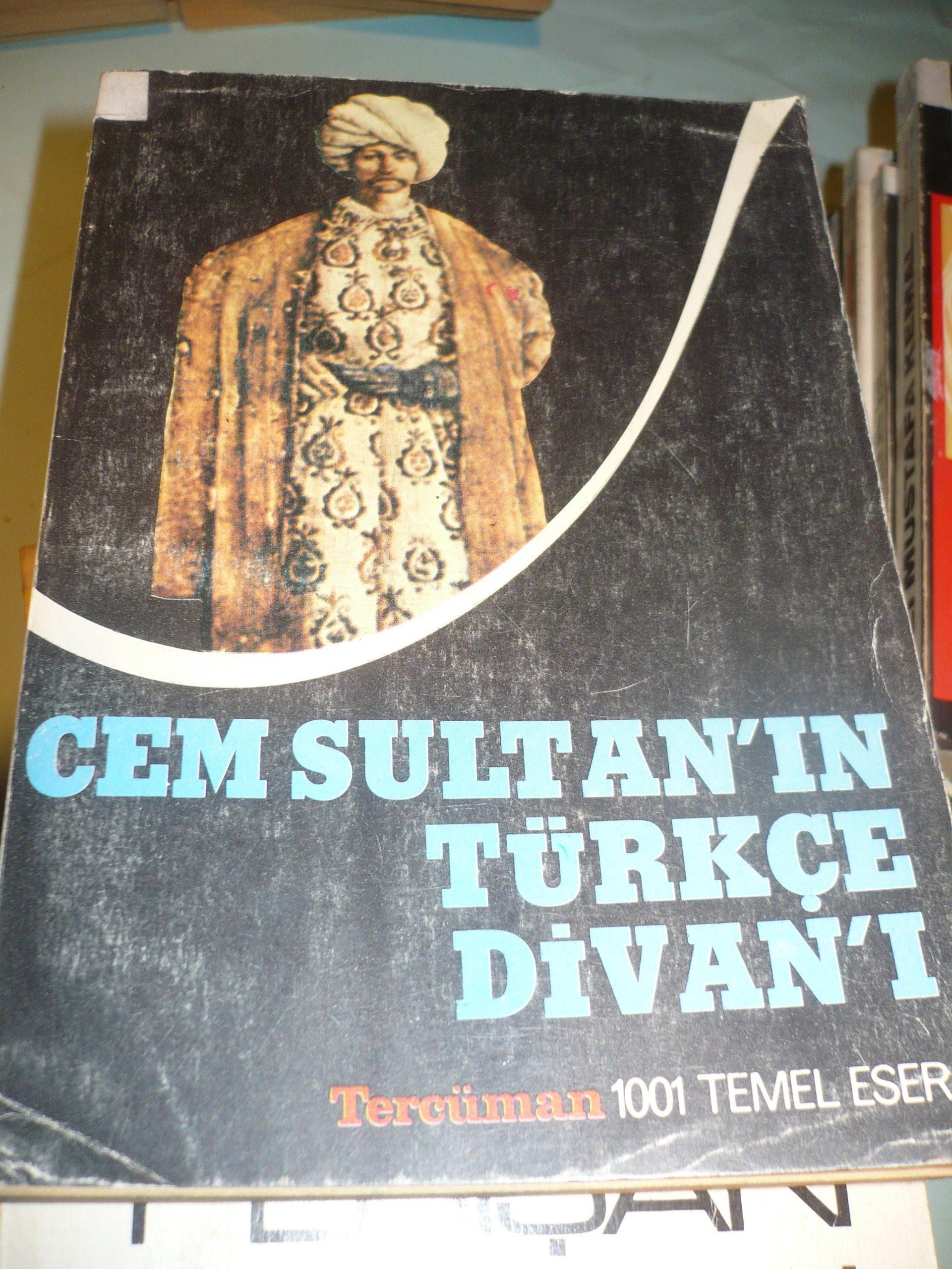 CEM SULTAN'IN TÜRKÇE DİVANI I-II-III /TERCÜMAN YAY