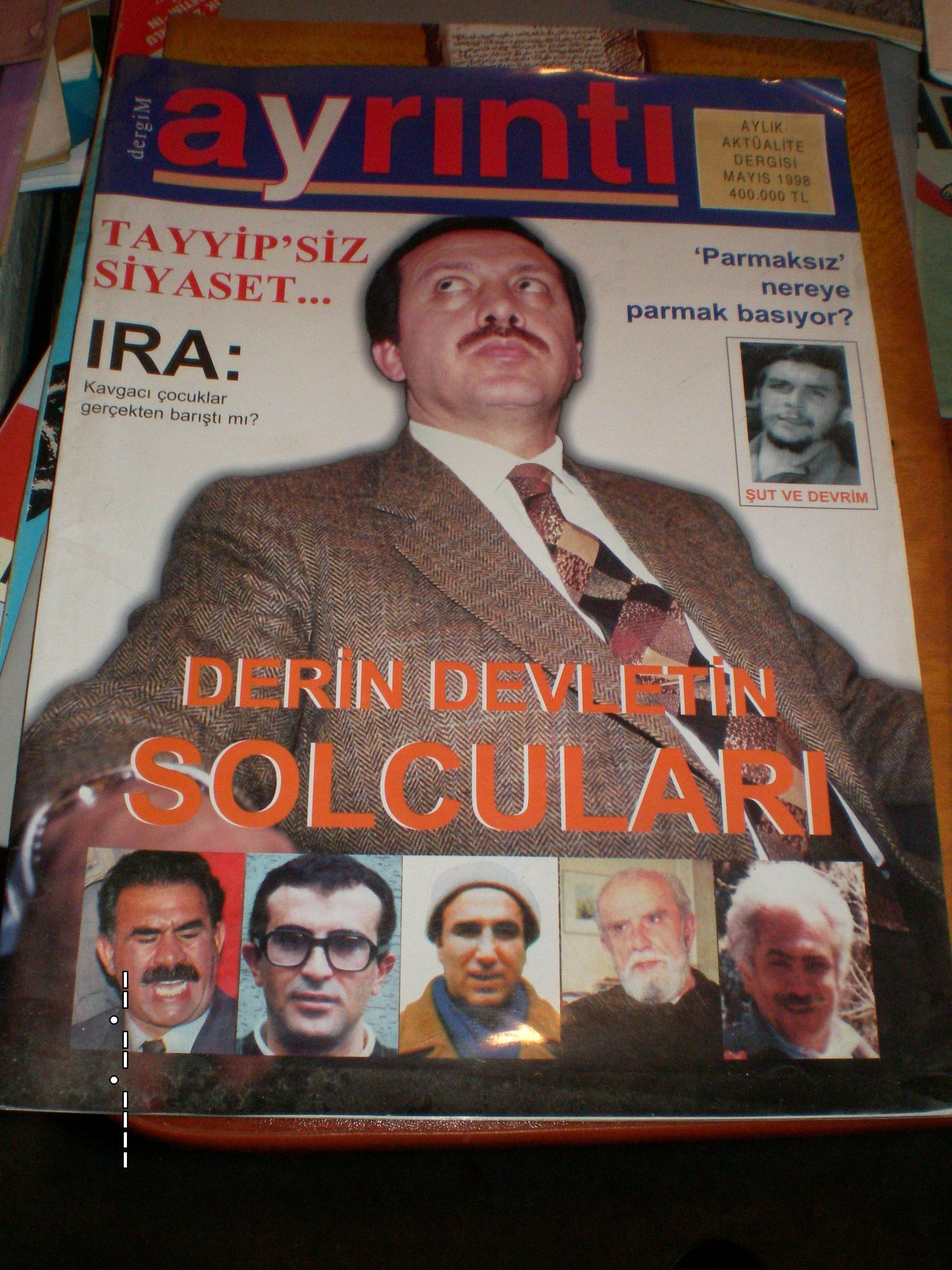 DergiM AYRINTI /Tayyip Erdoğan sayısı)-Mayıs 1998/15 tl