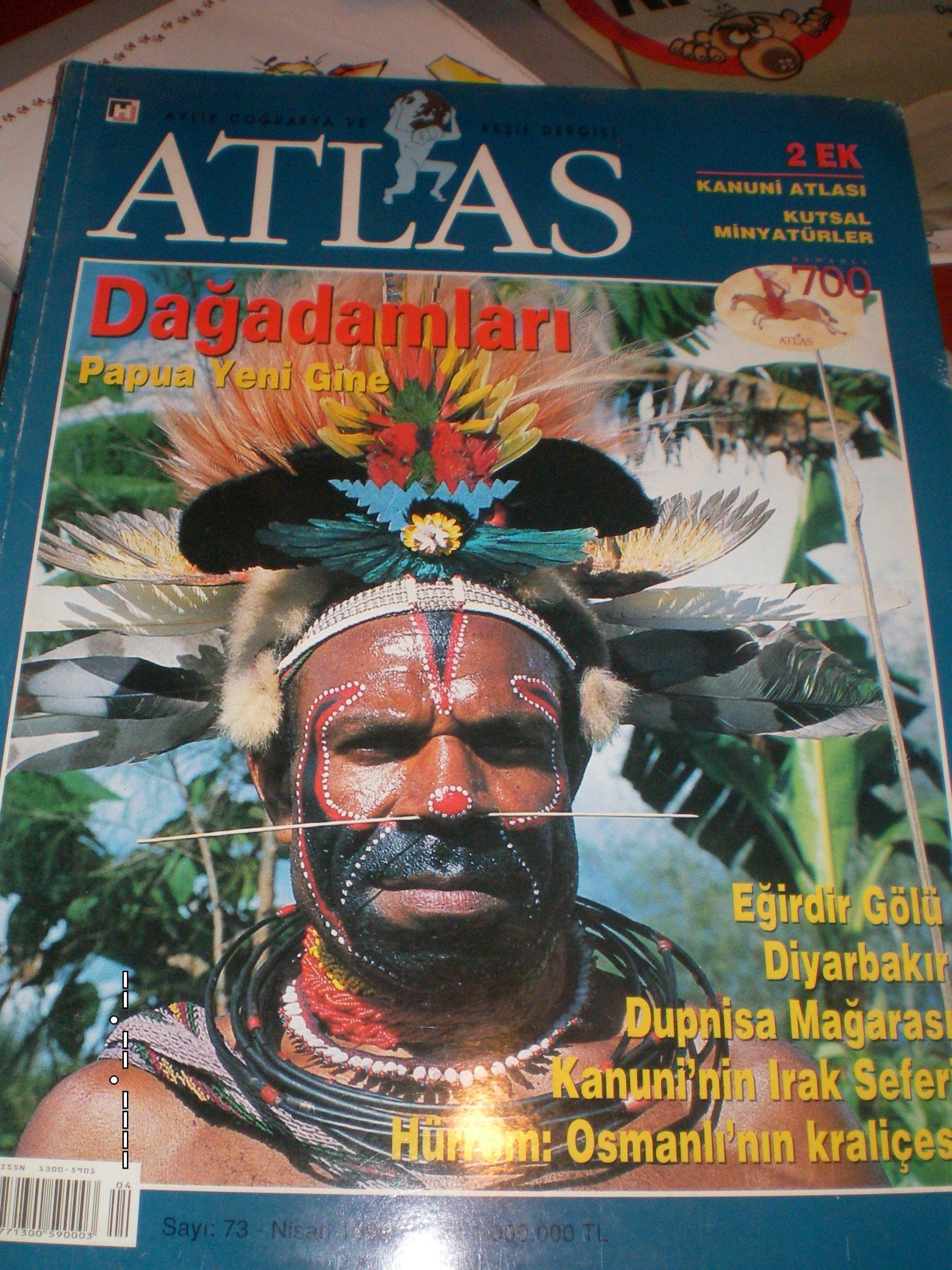 ATLAS DERGİSİ -40 adet/Yeşil Atlas derg.2 adet/ eski sayılar/toplam. 80 tl(SATILDI)