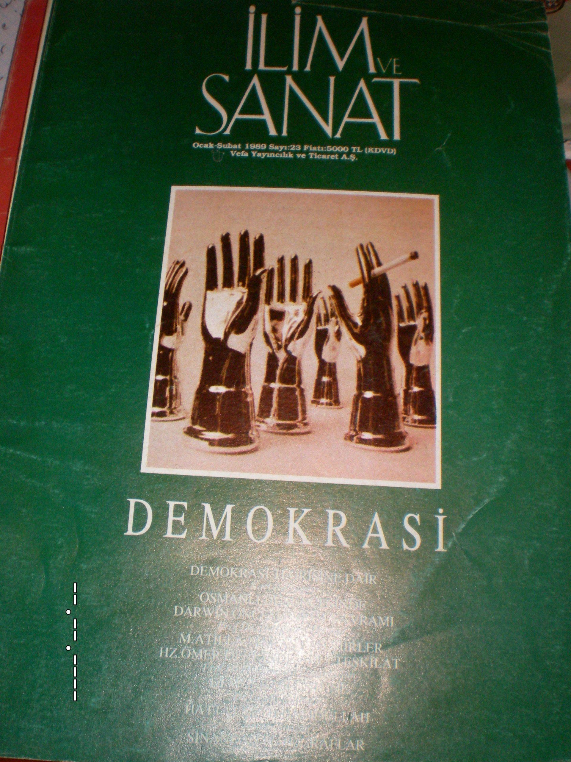 İLİM VE SANAT /1985-1989 / 4 Adet/Toplam20 tl