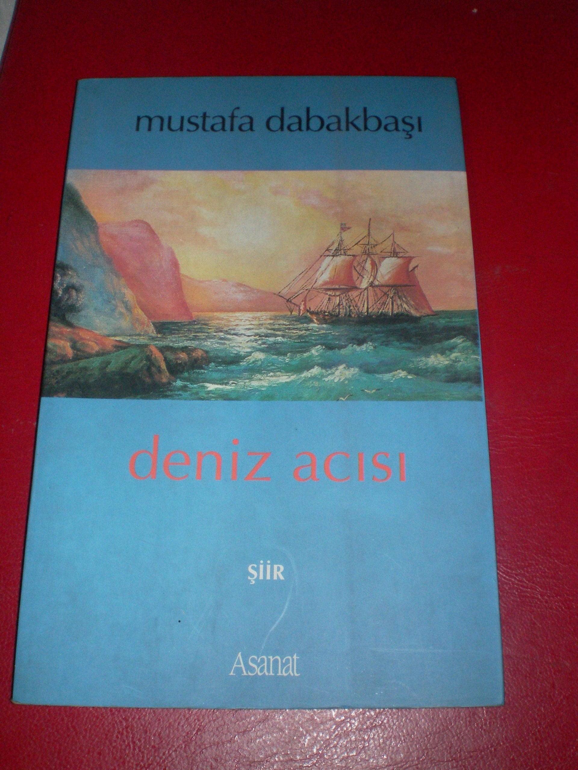 DENİZ ACISI/Mustafa Dabakbaşı/ 3 tl(satıldı)