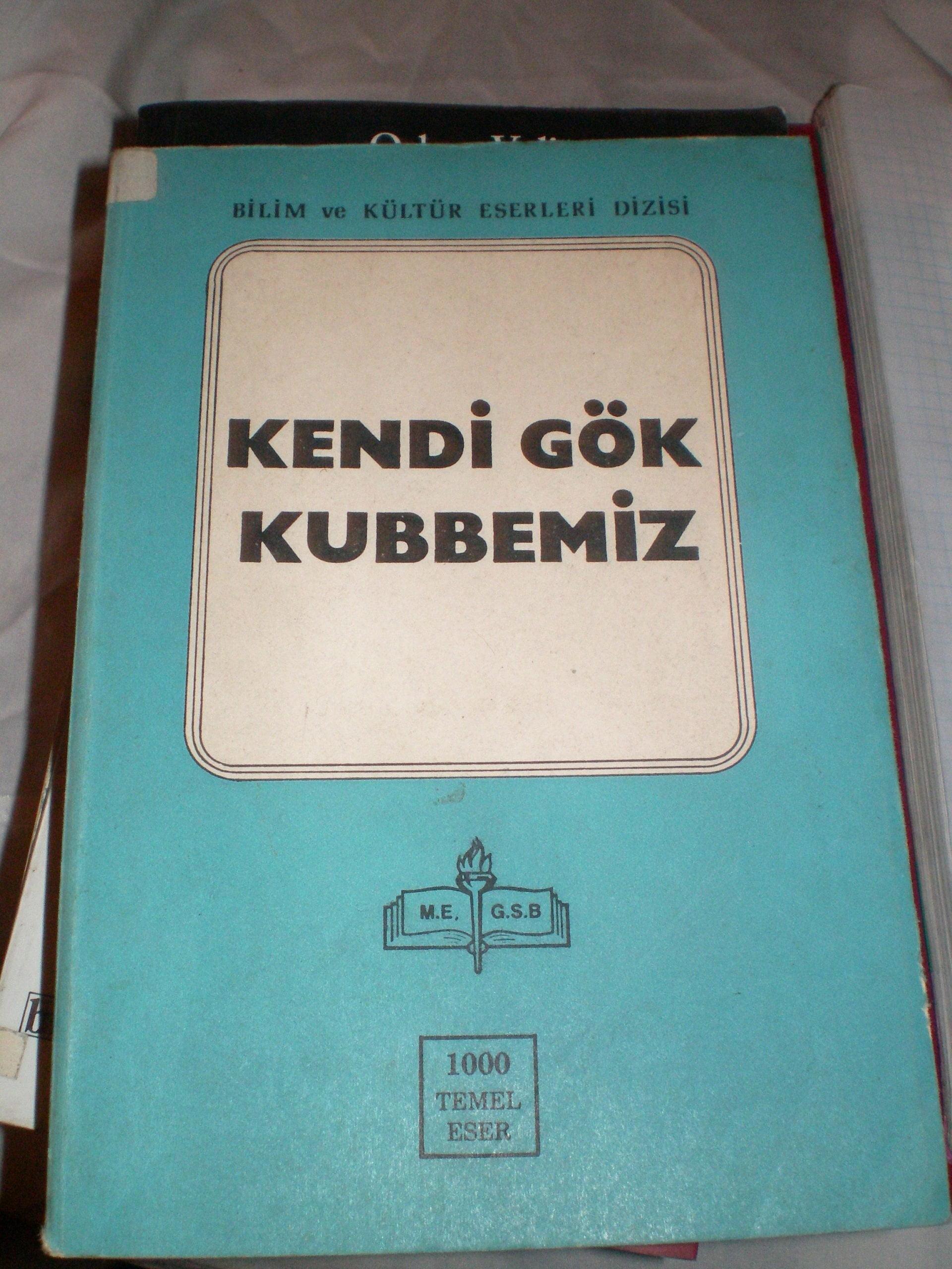 KENDİ GÖK KUBBEMİZ/Yahya Kemal BEYATLI/10 TL