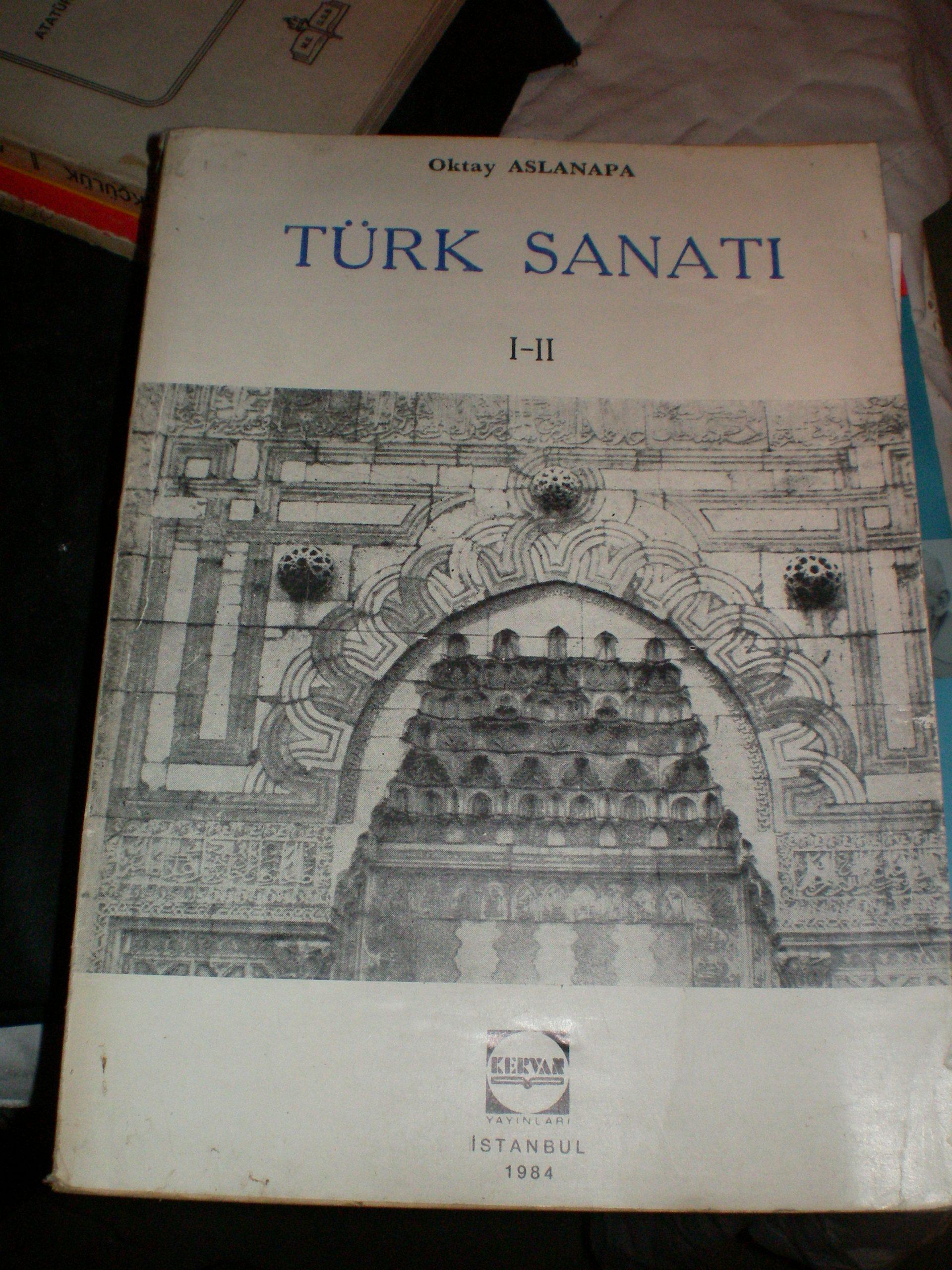 TÜRK SANATI -I-II/OKTAY ASLANAPA/20 TL