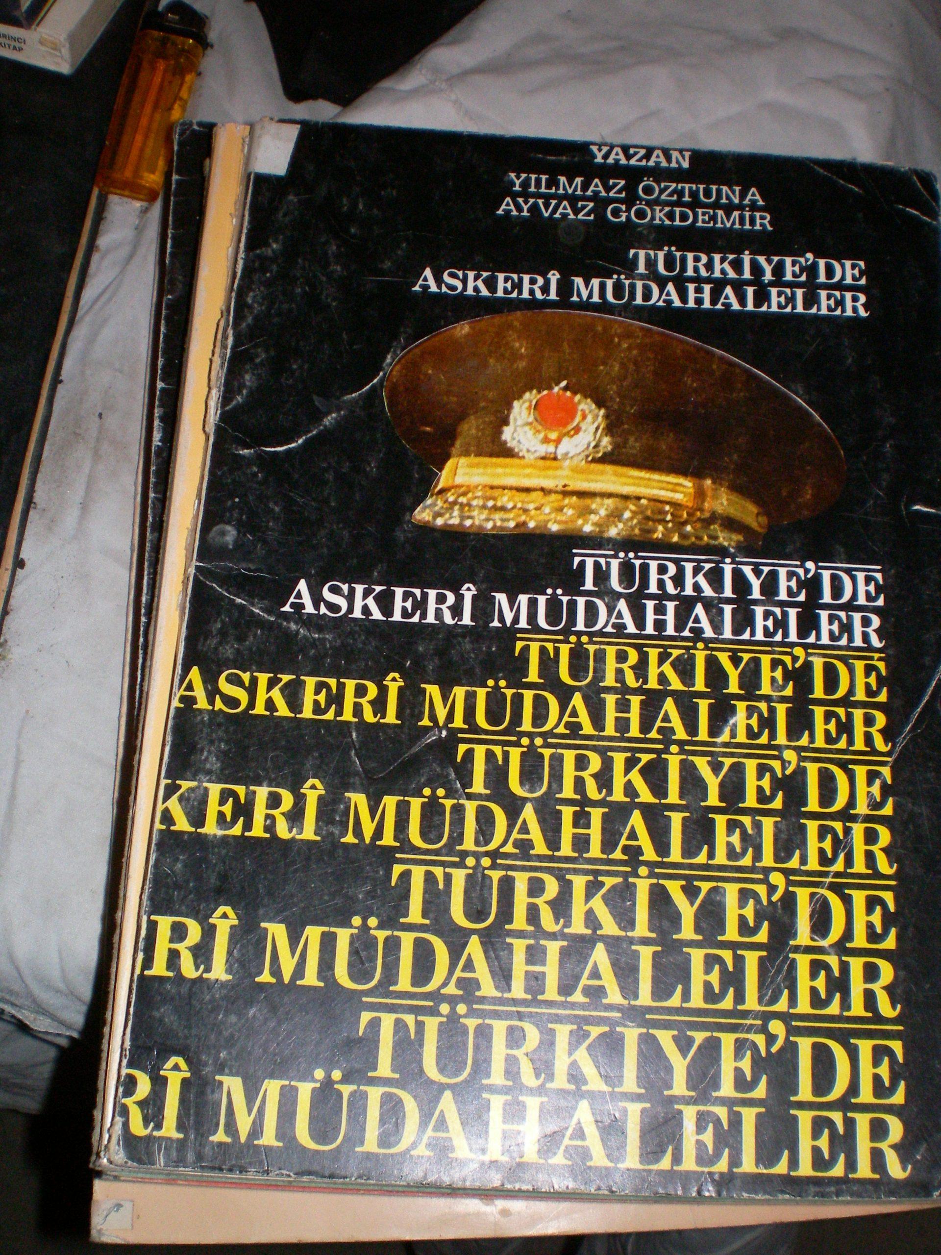 TÜRKİYE'DE ASKERİ MÜDAHALELER(Tercümn gazetesi)/Y.ÖZTUNA-A.GÖKDEMİR/ 15 TL