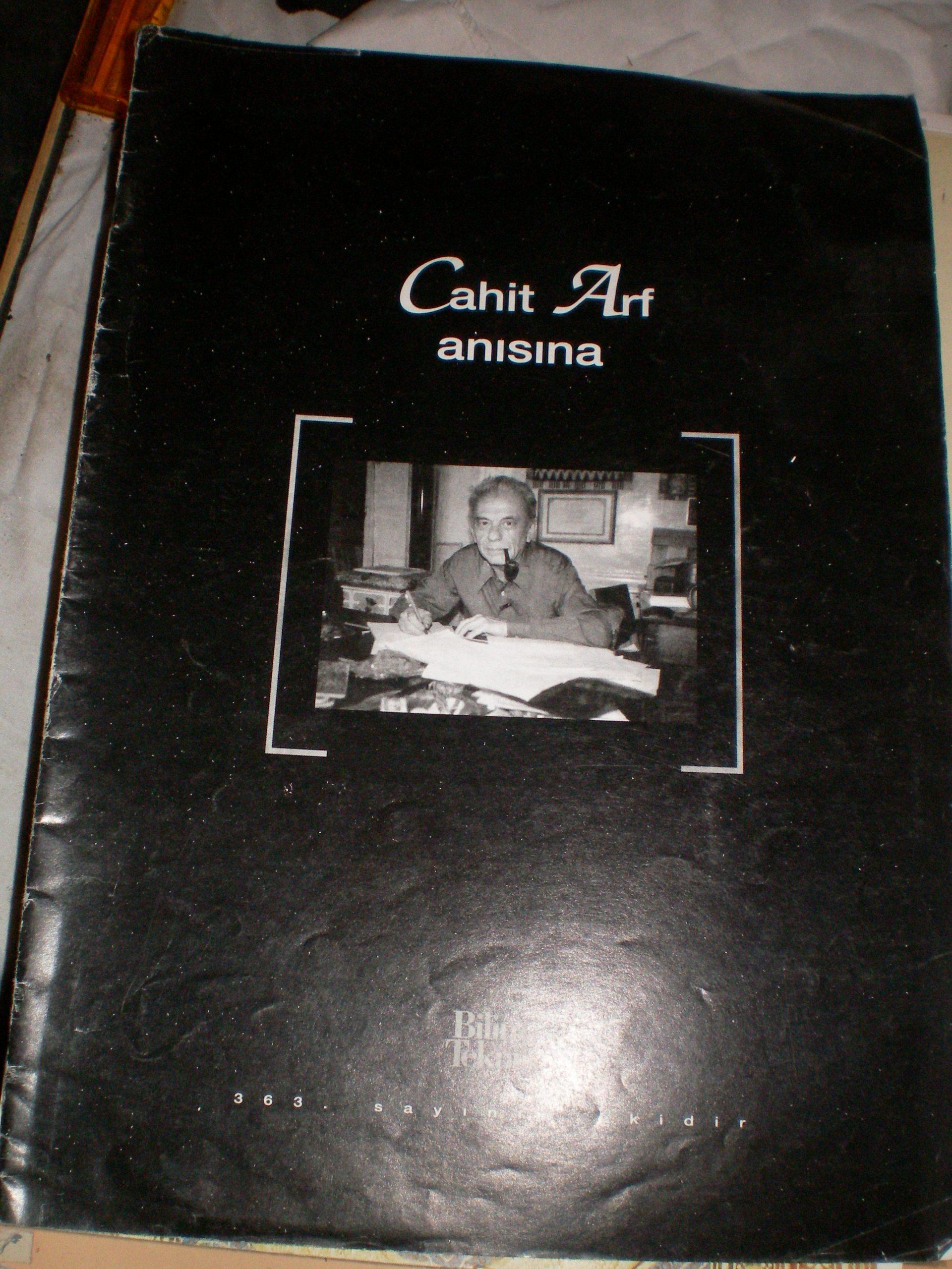 CAHİT ARF ANISINA/TÜBİTAK Bilim ve Teknik Dergisi ek/ 15 tl