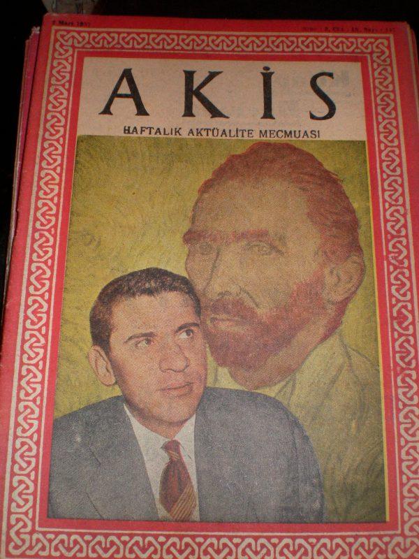 AKİS DERGİSİ/23 ADET/TANE-