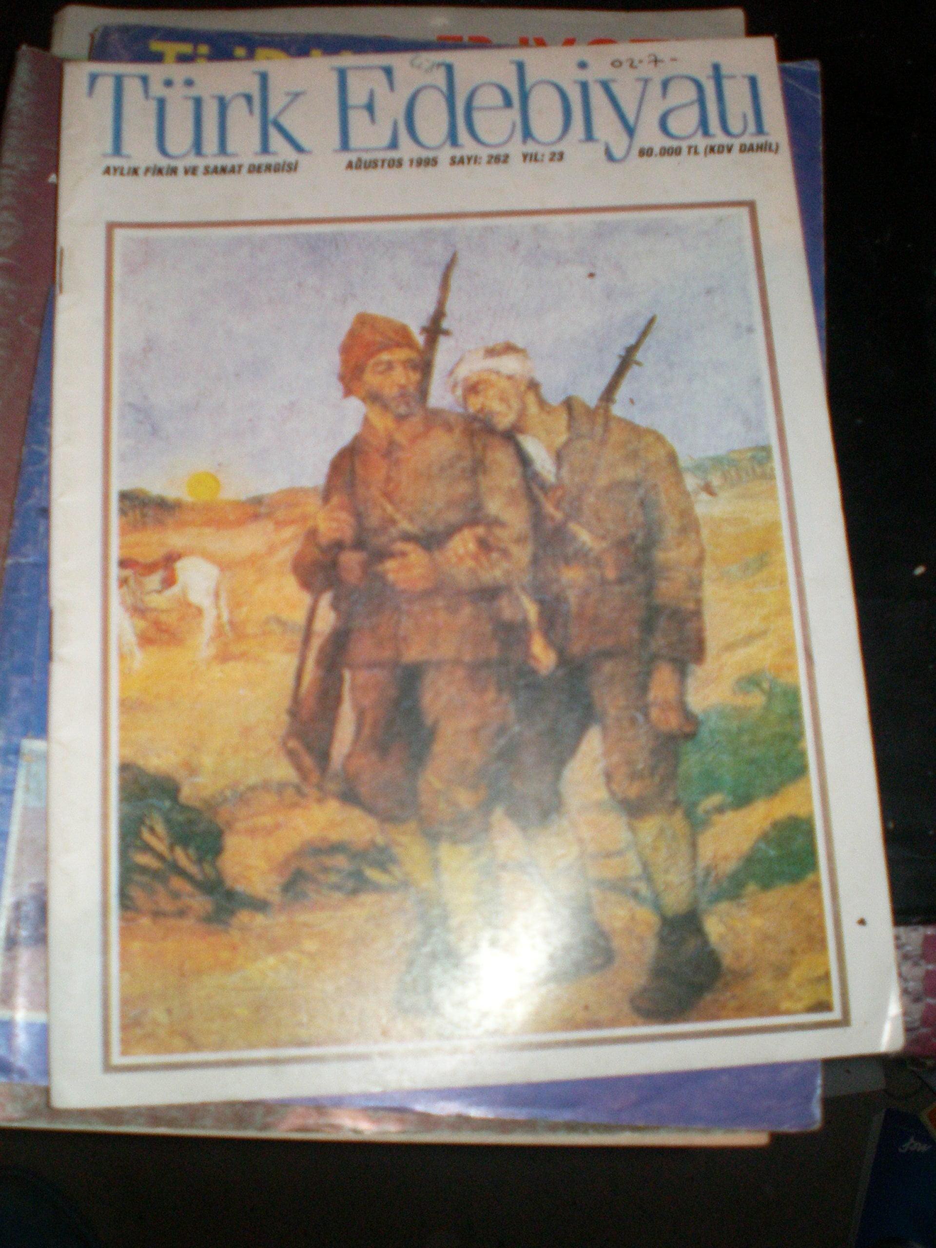 TÜRK EDEBİYATI DERGİSİ/ 1986-1995 Arası/ 35 ADET/Toplam.150tl
