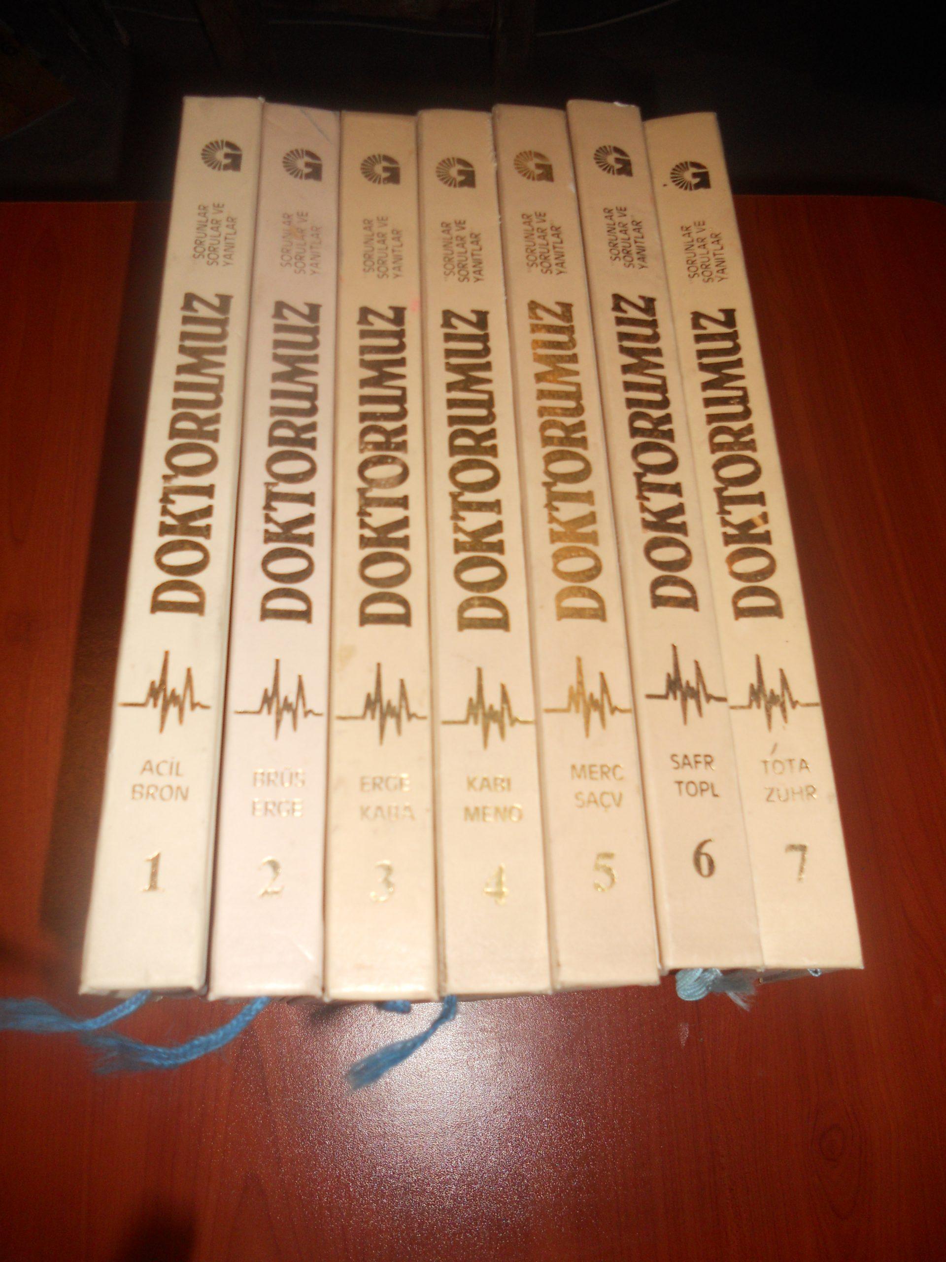 DOKTORUMUZ Ansıklopedisi(toplam 7 cilt)GELİŞİM YAY/50 tl