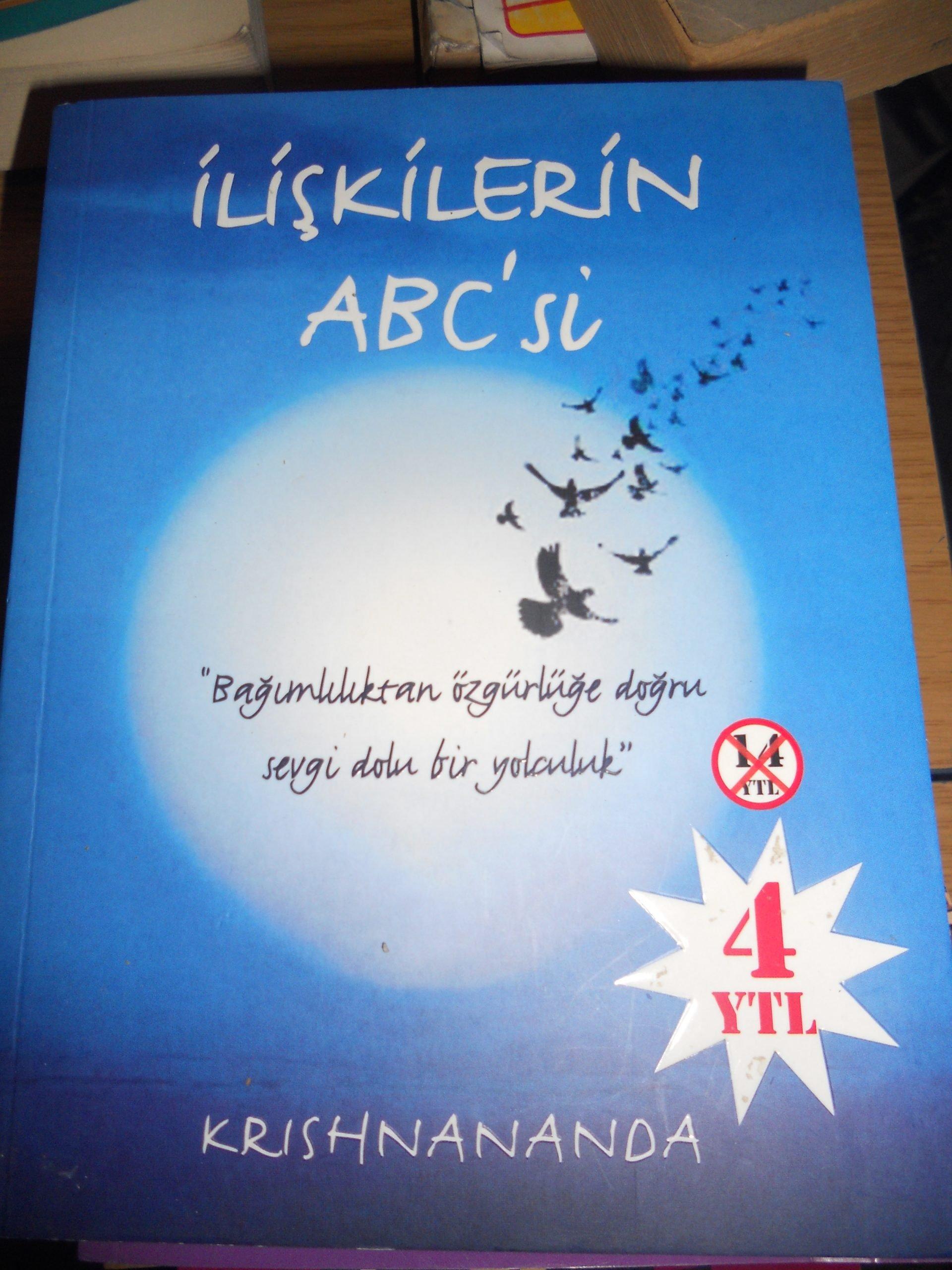 İLİŞKİLERİN ABECE'Sİ/ KRISHNANANDA/15 TL